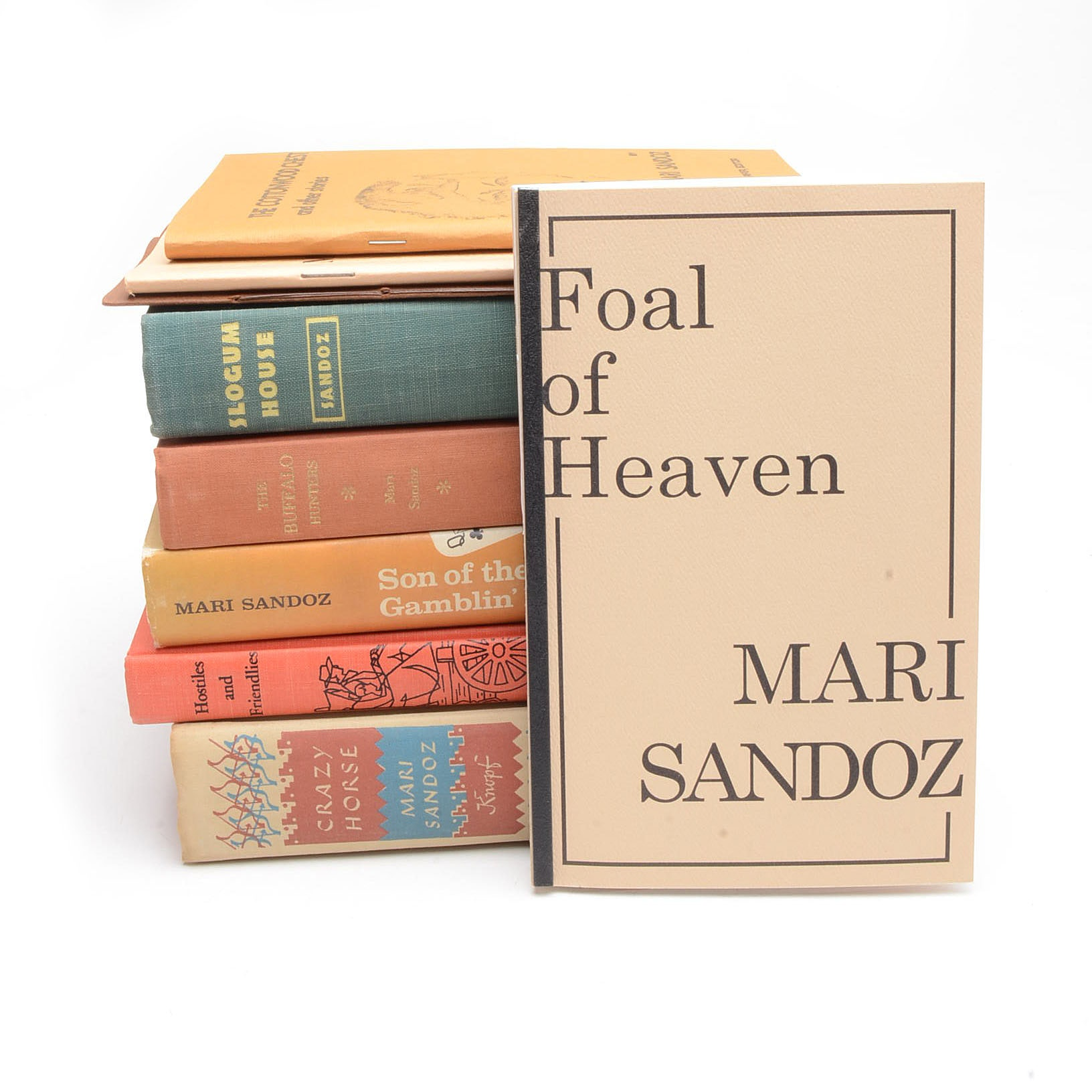 Collection of Works by Mari Sandoz