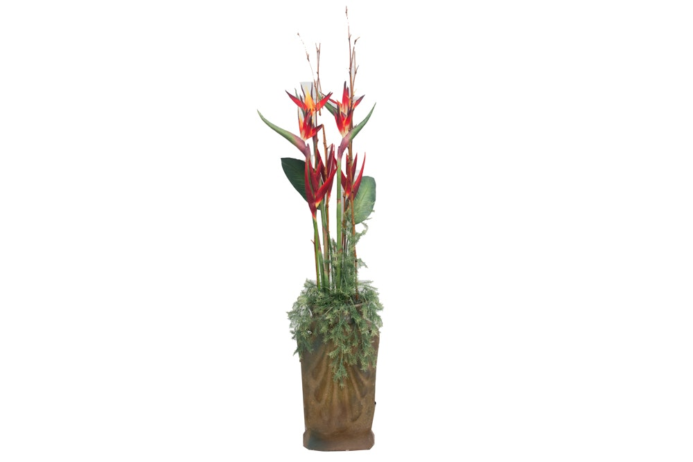Artificial Bird of Paradise Plant