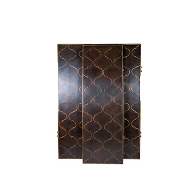 Wood Panel Room Screen - Online Furniture Auctions Vintage Furniture Auction Antique