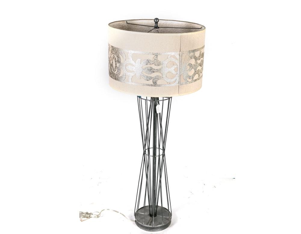 Metal Buffet Lamp