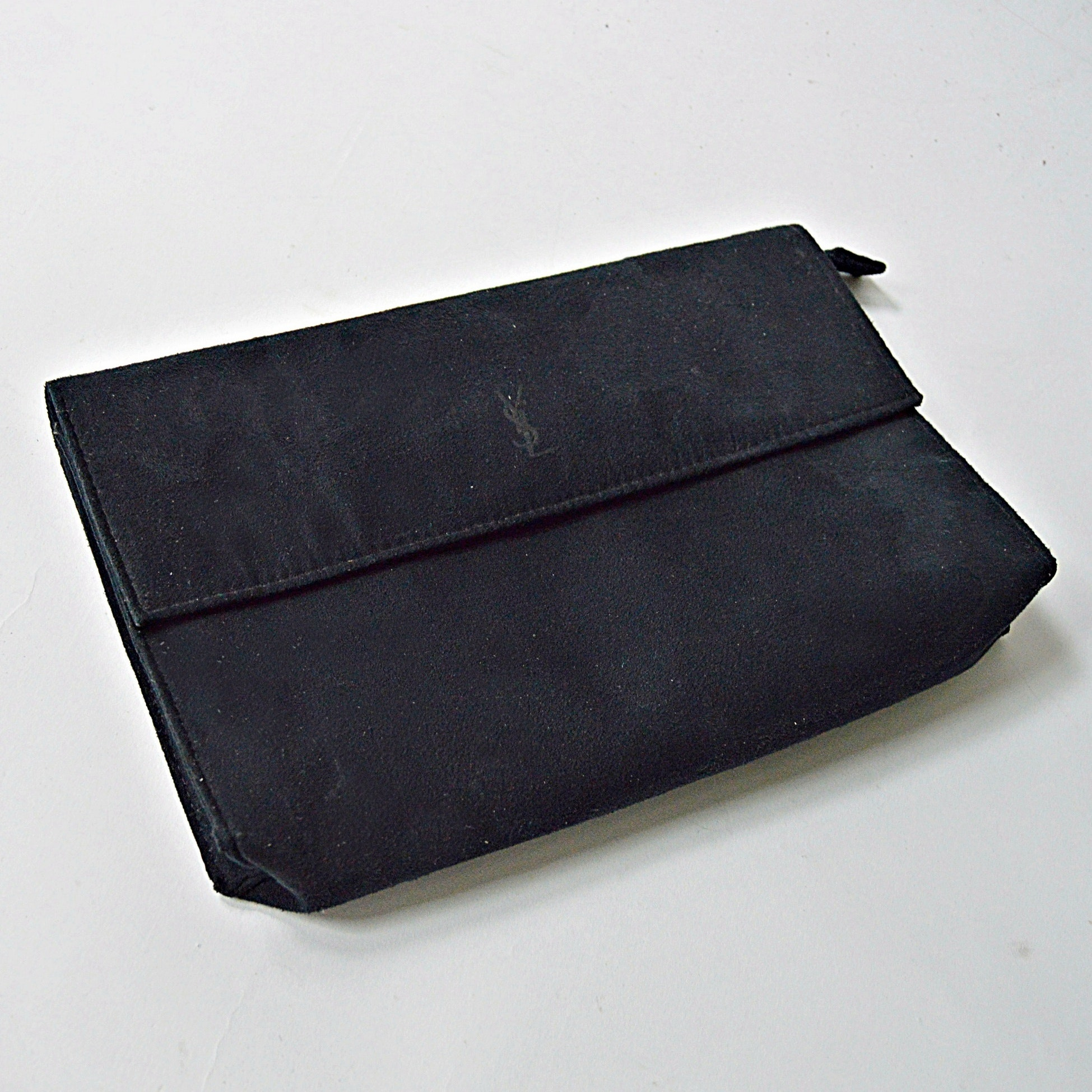 Yves Saint Laurent Suede Pouch