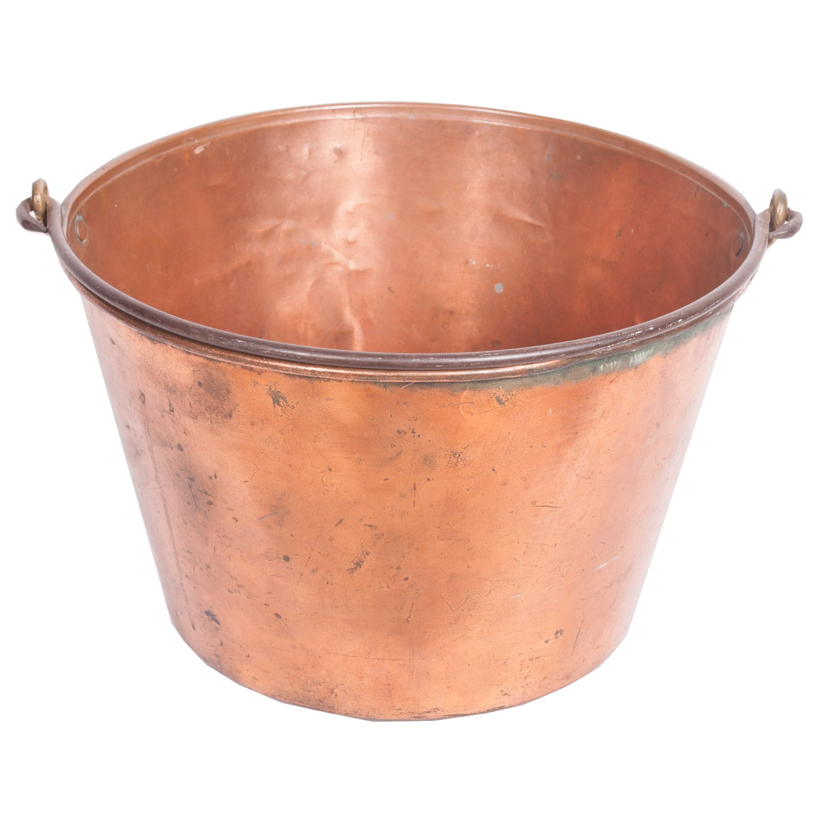 Antique Haydens Copper Bucket, Circa 1865