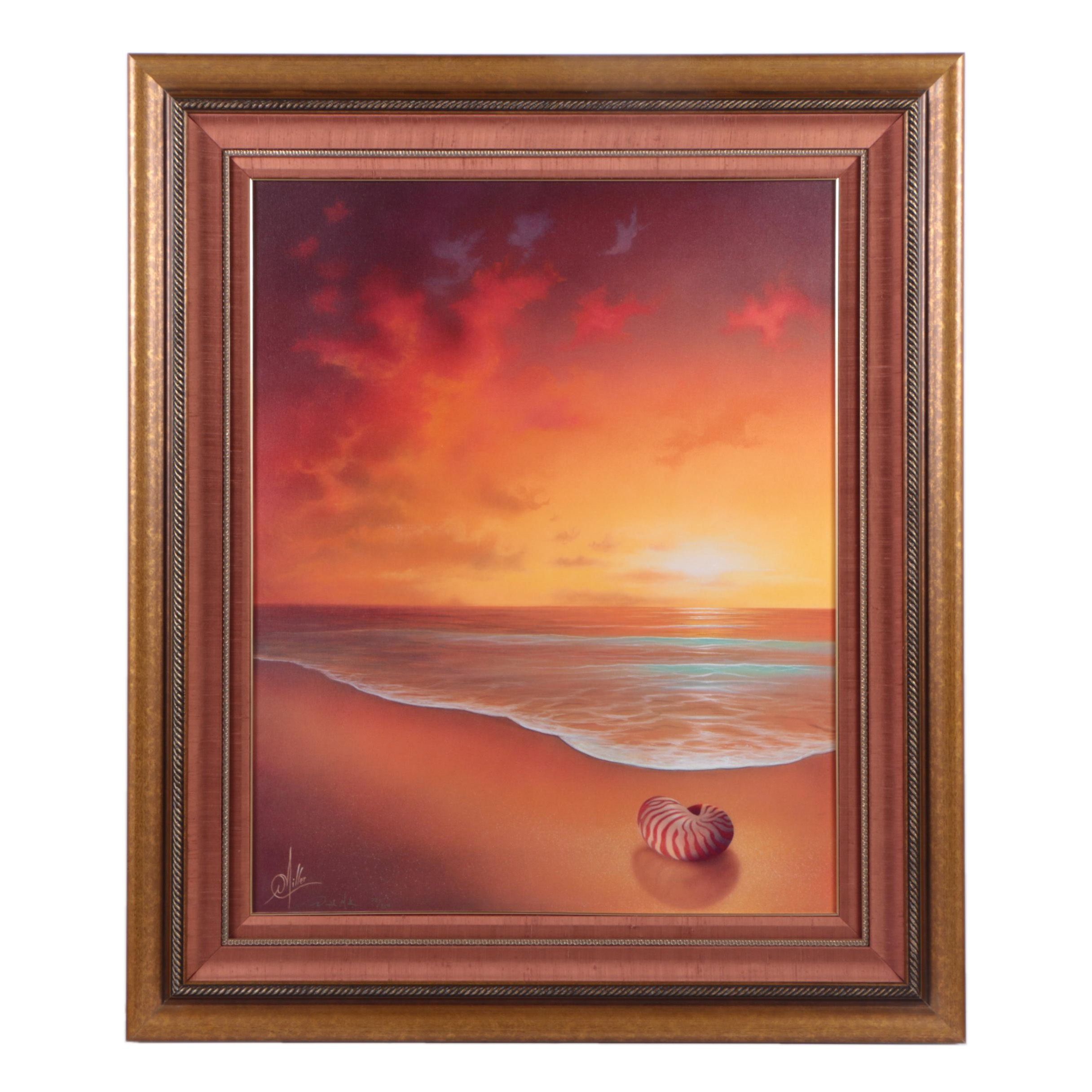 "Miller Limited Edition Giclee Print on Canvas ""Crimson Tide"""