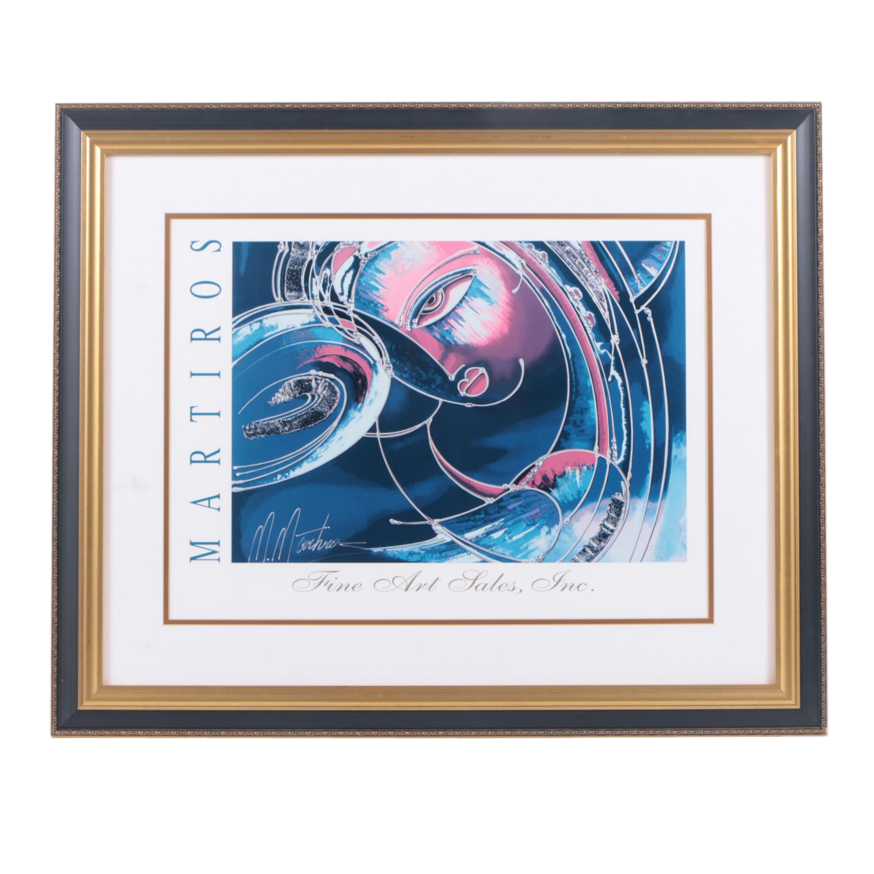 After Martiros Offset Lithograph Print from Fine Art Sales, Inc.