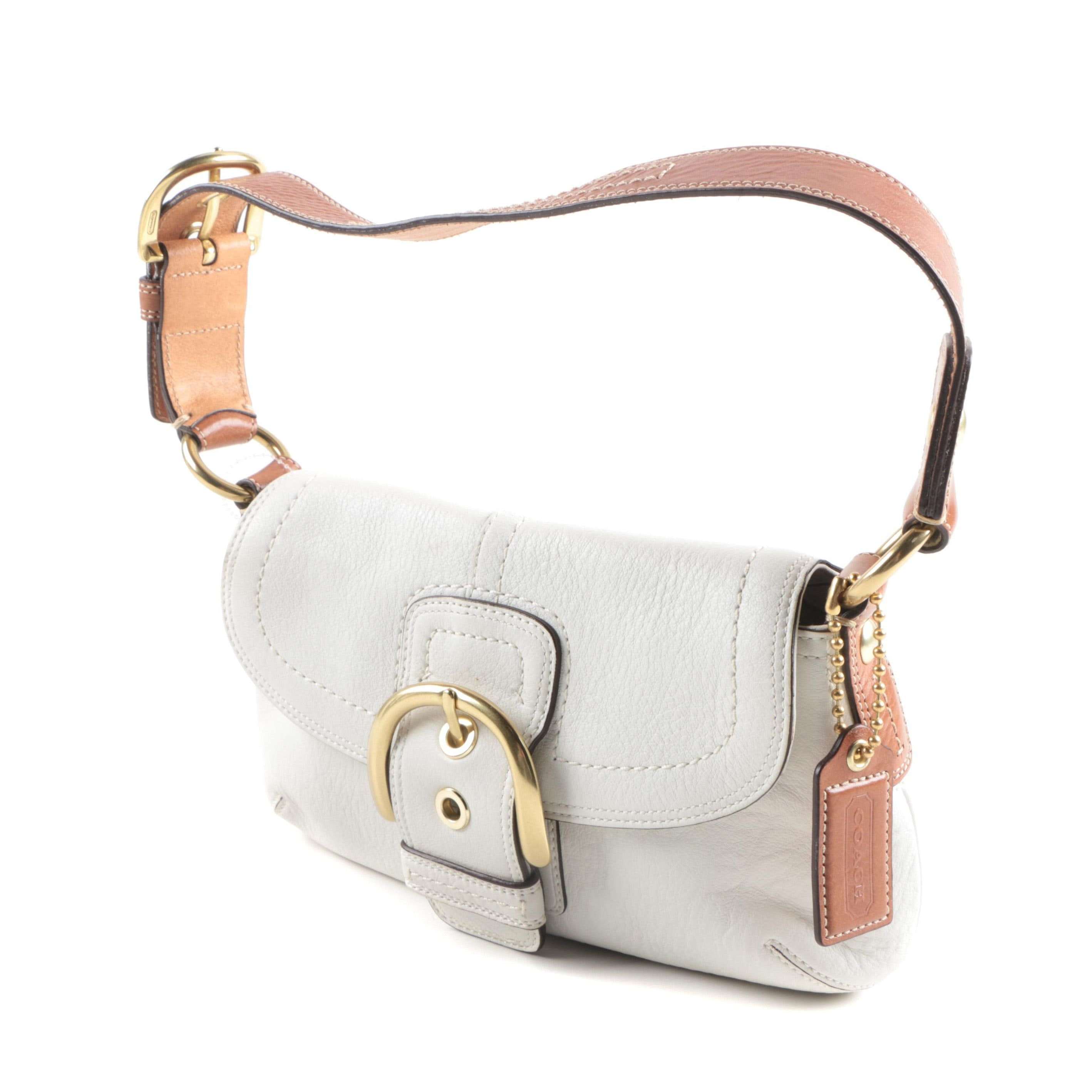 Coach Leather Soho Flap Shoulder Bag
