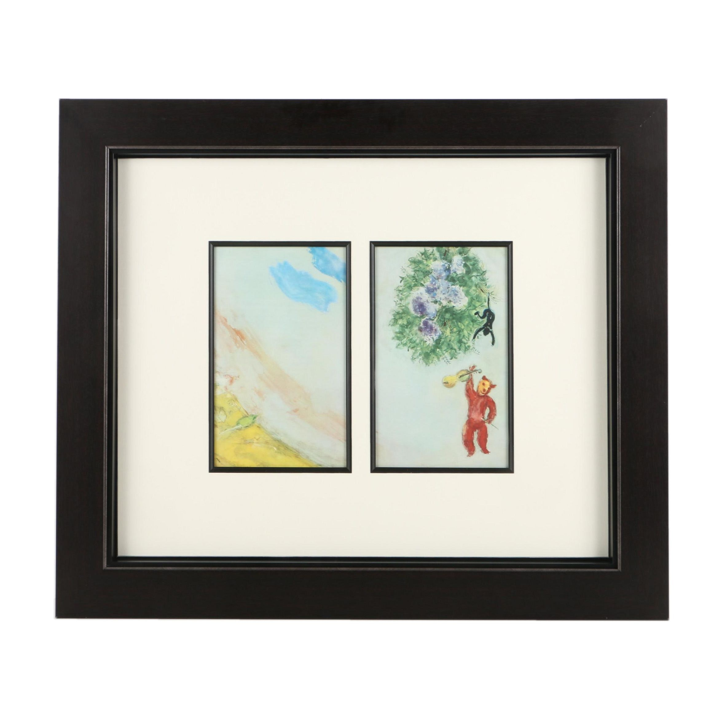 """Offset Lithographs After Marc Chagall's """"The Carnival"""""""