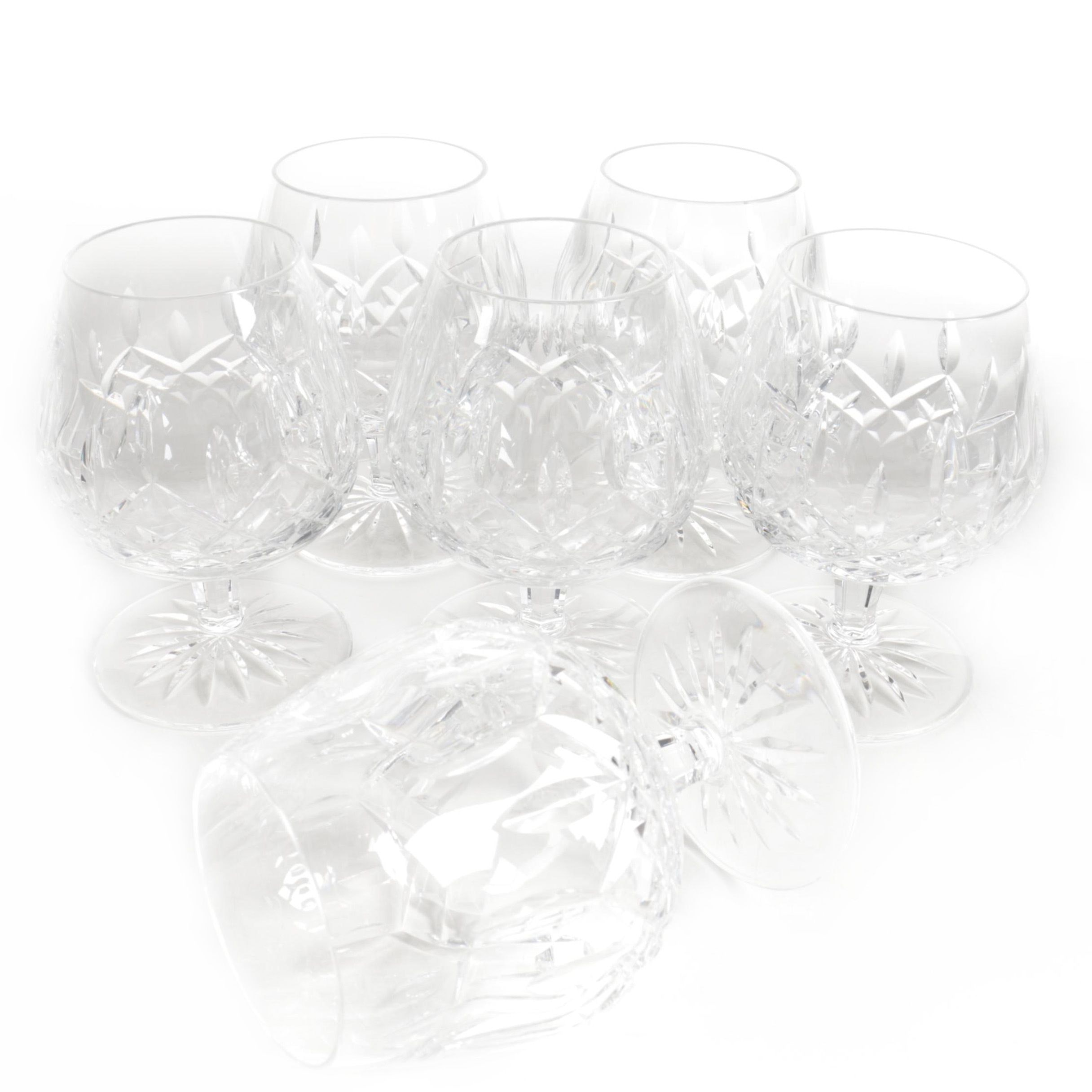 "Waterford Crystal ""Lismore"" Brandy Snifters"
