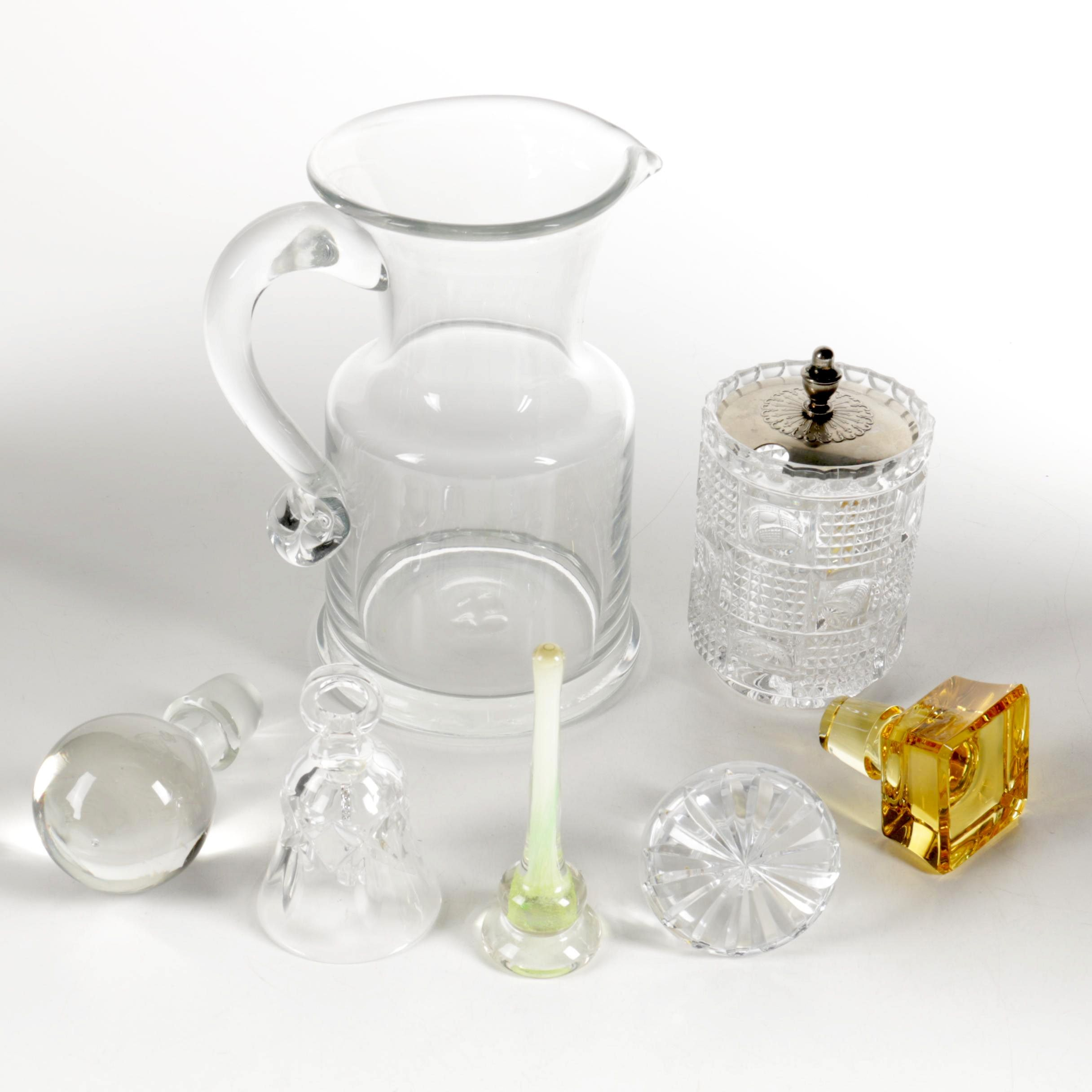 Variety Glass Decor and Vessels
