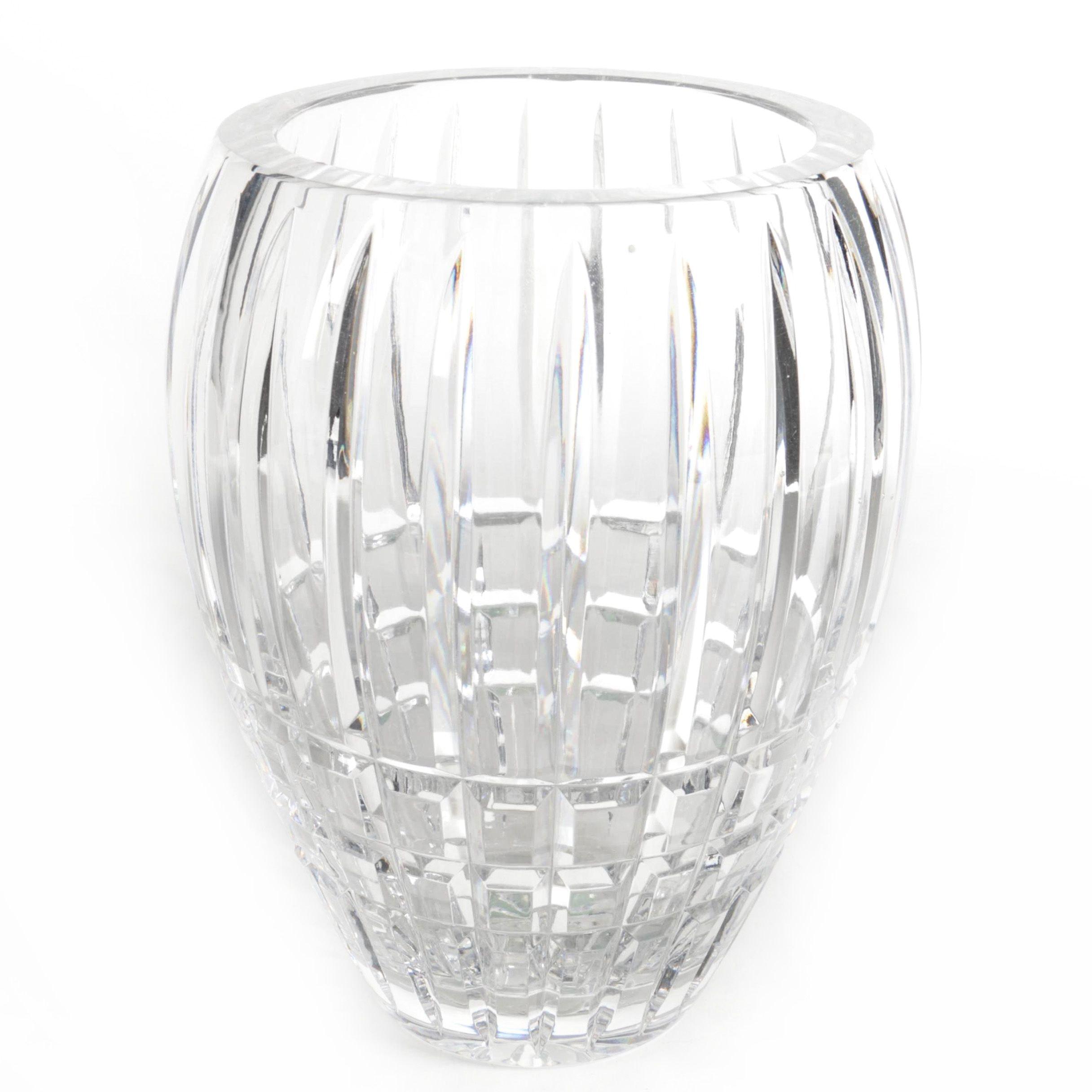 Ceska Crystal Vase