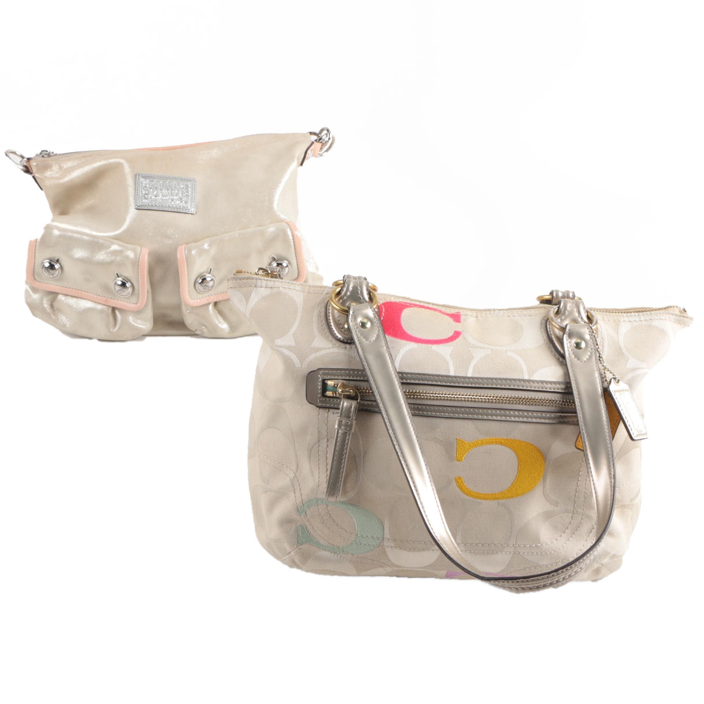 Coach Signature Poppy Handbags