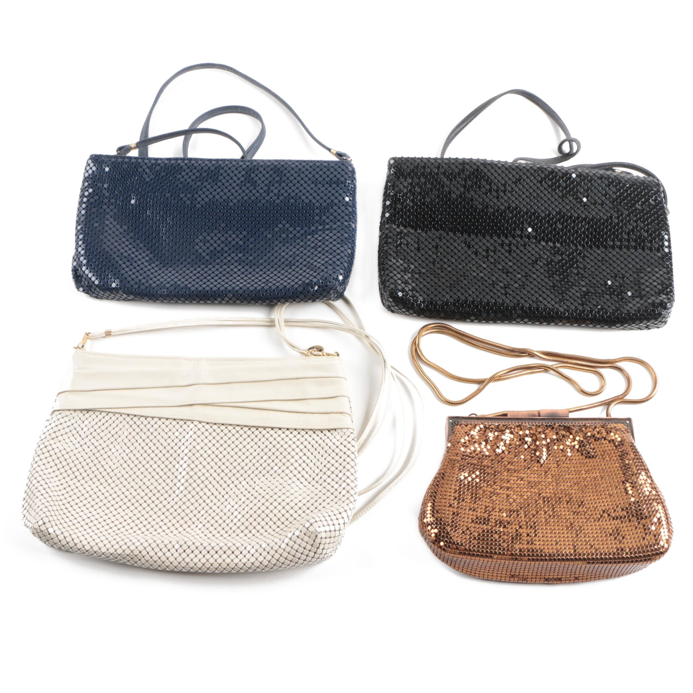 Whiting and Davis and La Regale Mesh Handbags