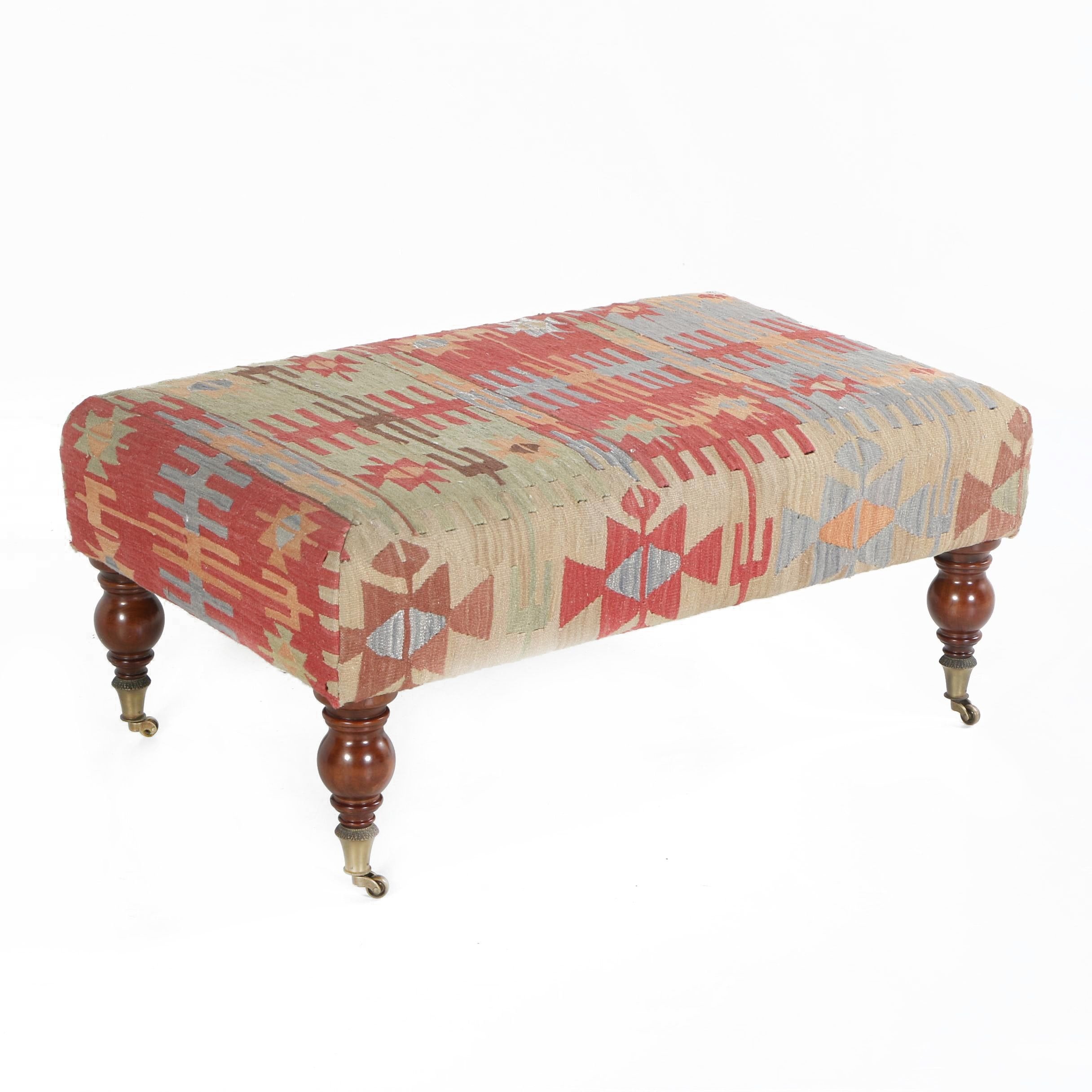 Southwestern Themed Ottoman by The Bombay Company