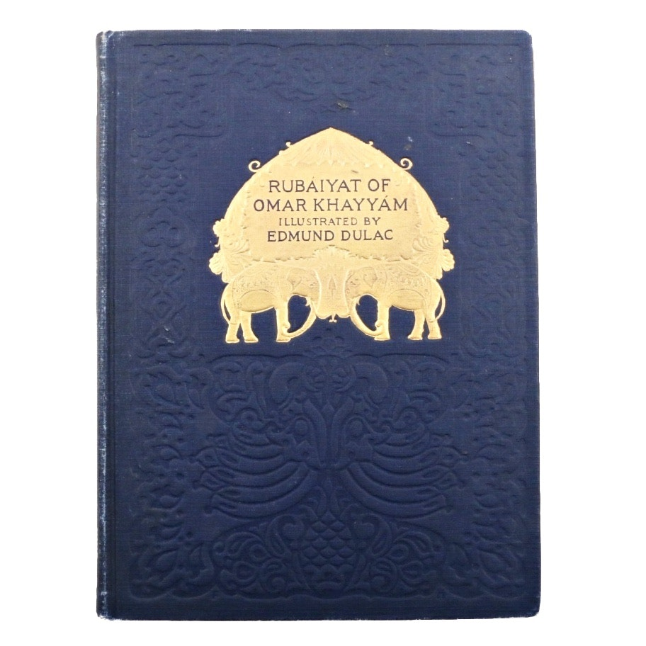 "Early 1900's  ""Rubaiyat of Omar Khayyam"" Illustrated by Edmund Dulac"