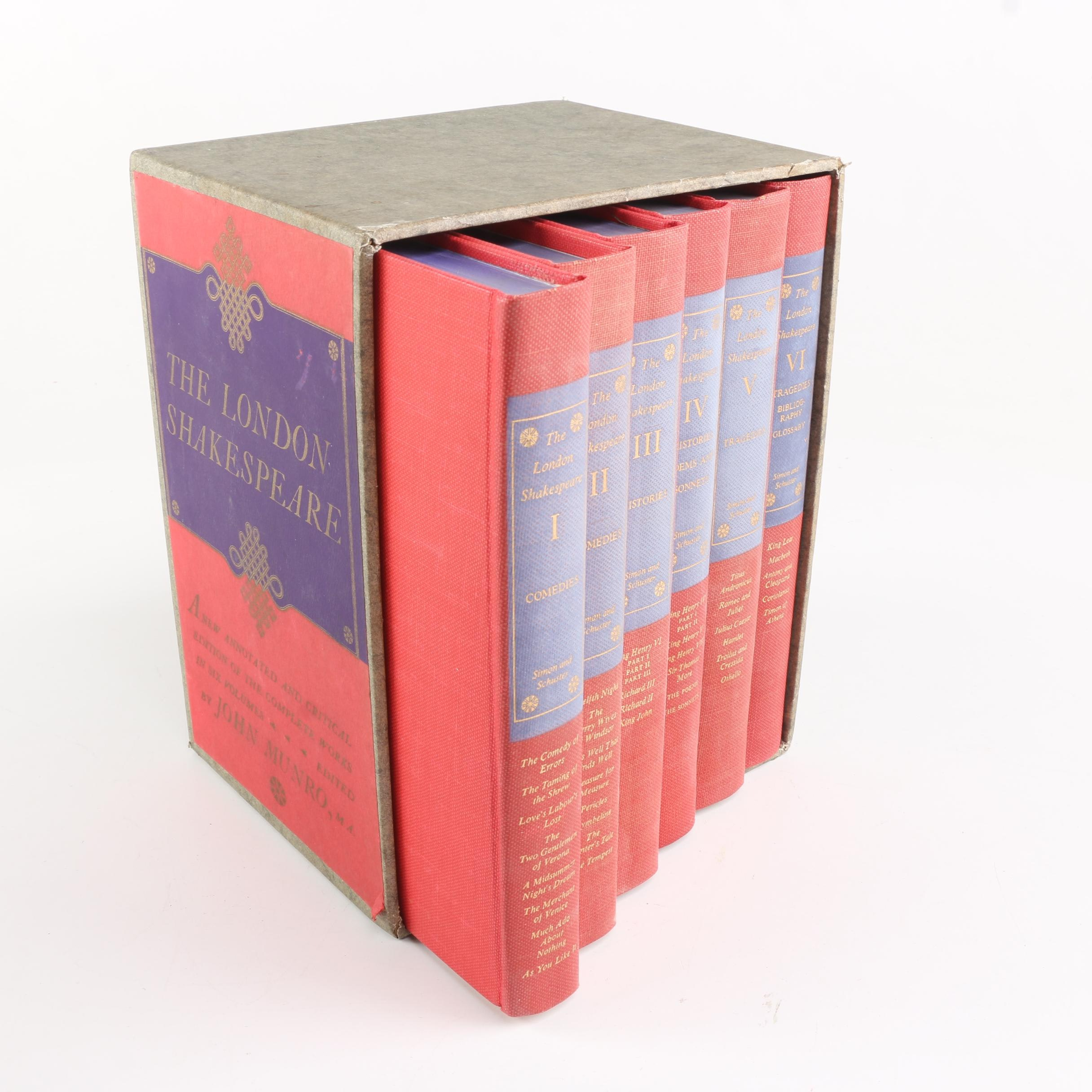 "1957 ""The London Shakespeare"" in Six Volumes"