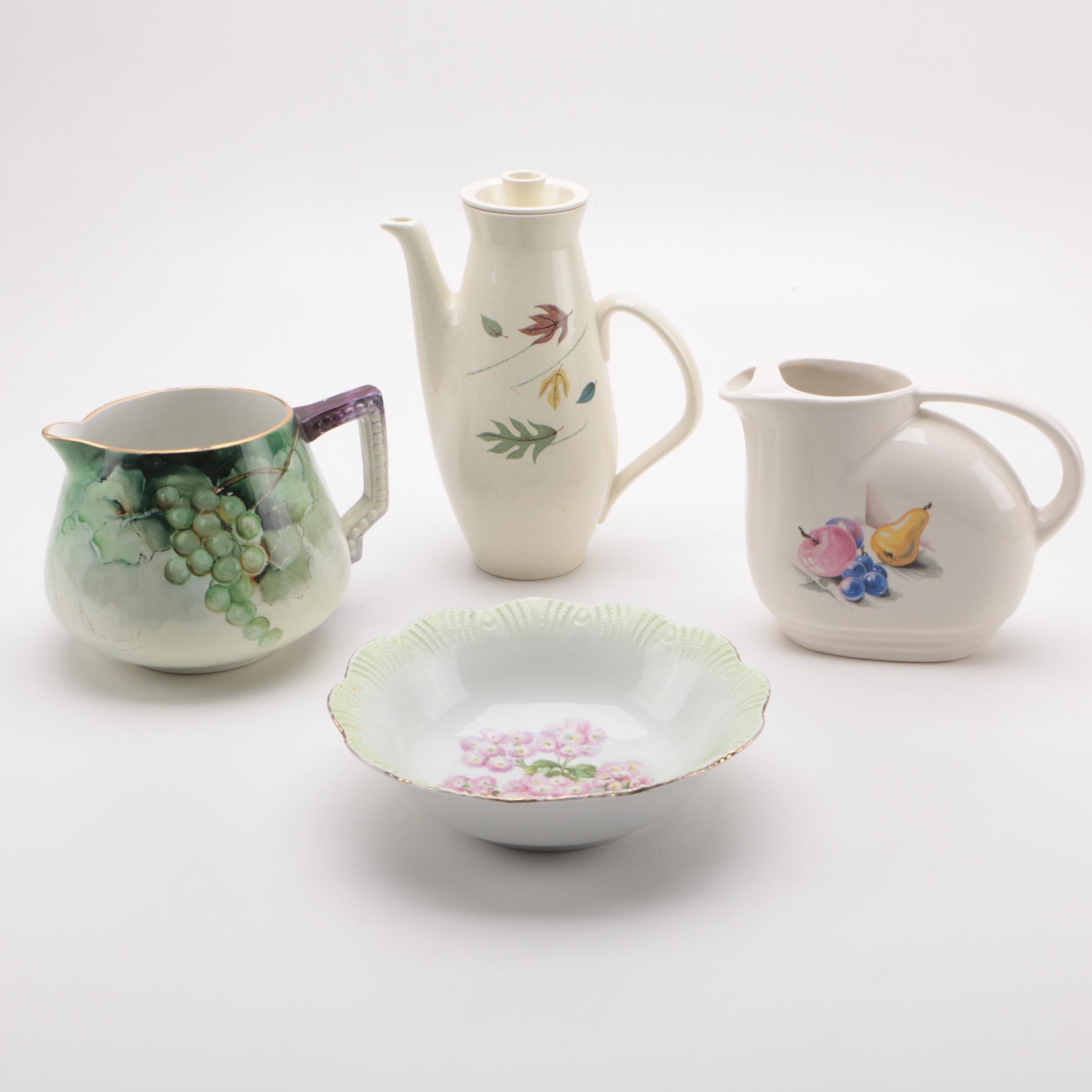 Ceramic Serveware Featuring Franciscan