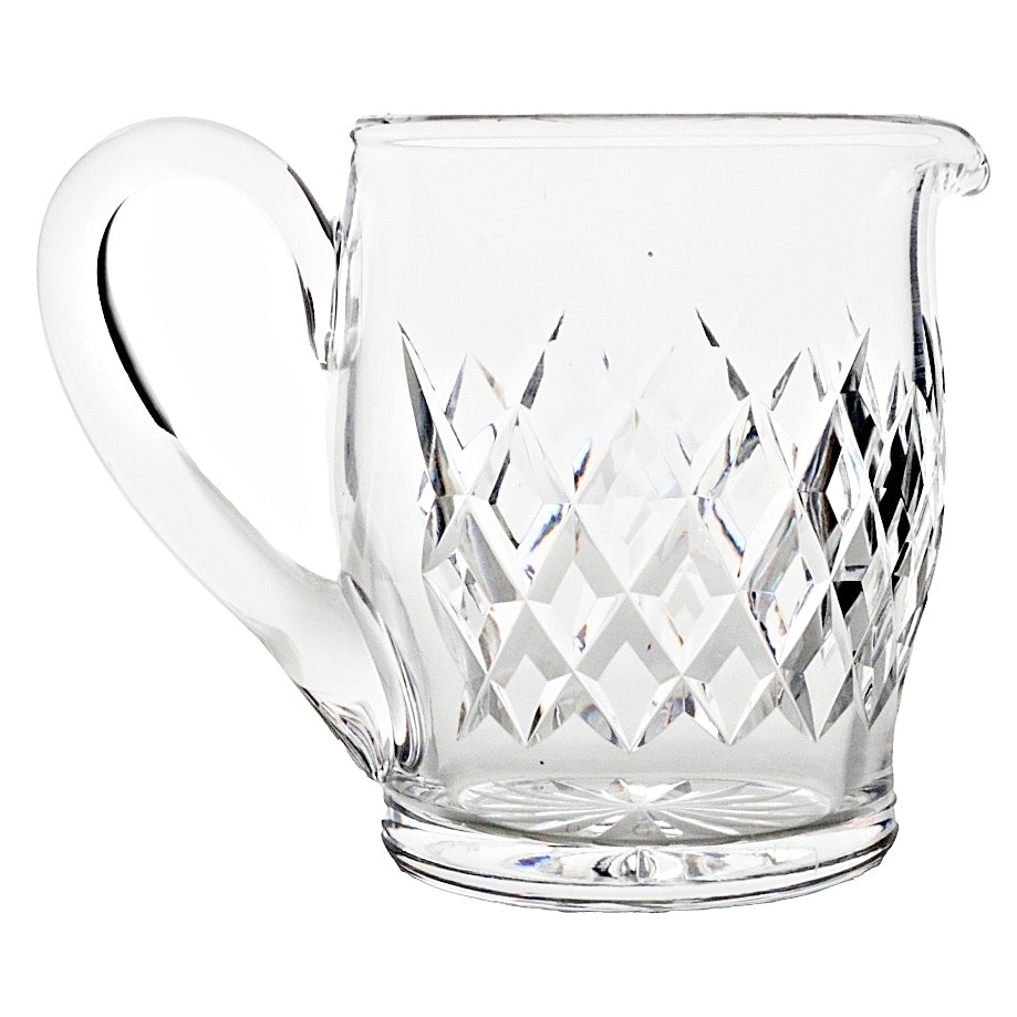 Waterford Quilted Crystal Pitcher
