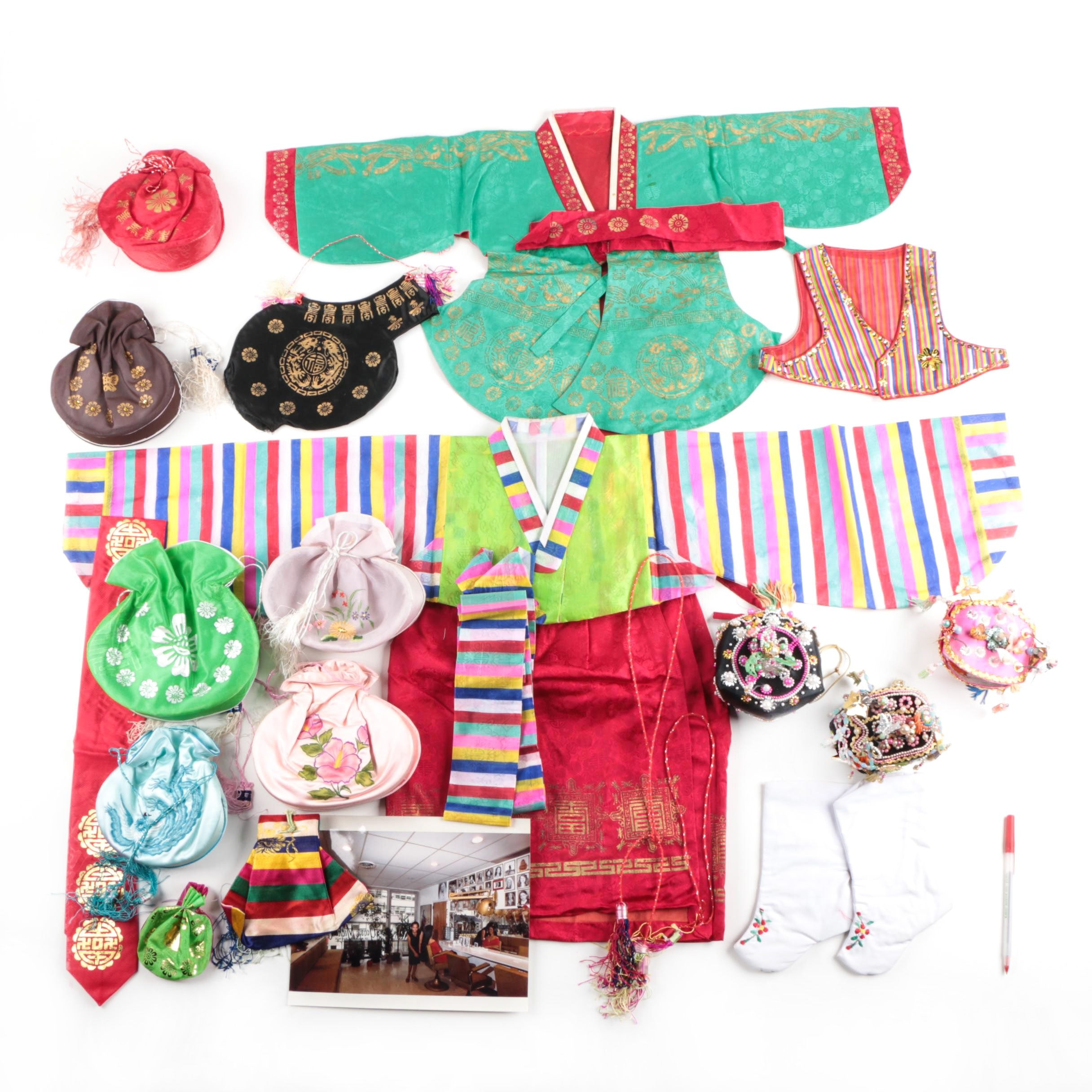 East Asian Clothing and Accessories
