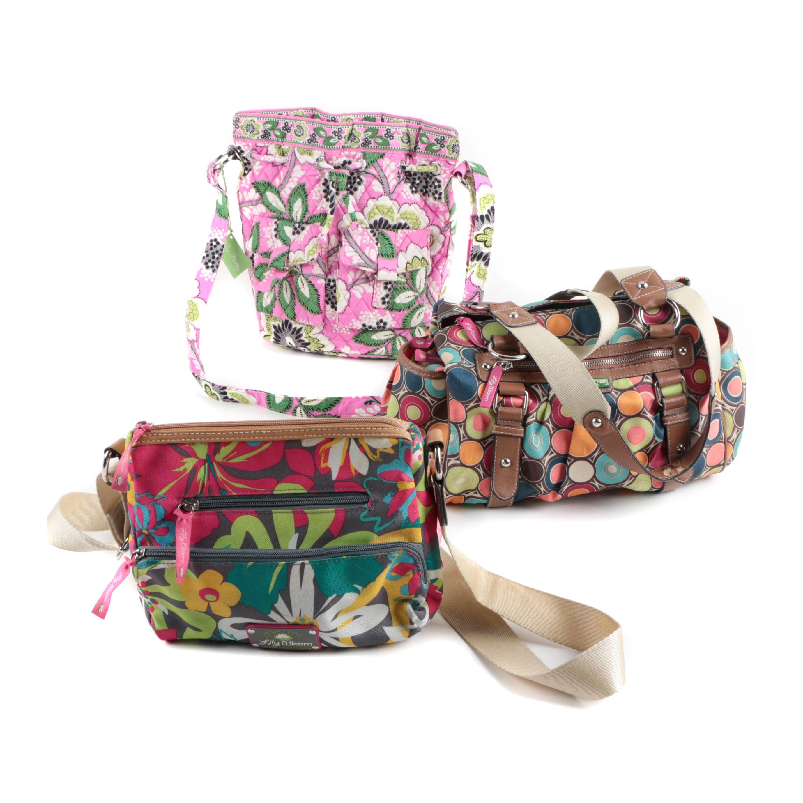 Vera Bradley and Lily Bloom Bags