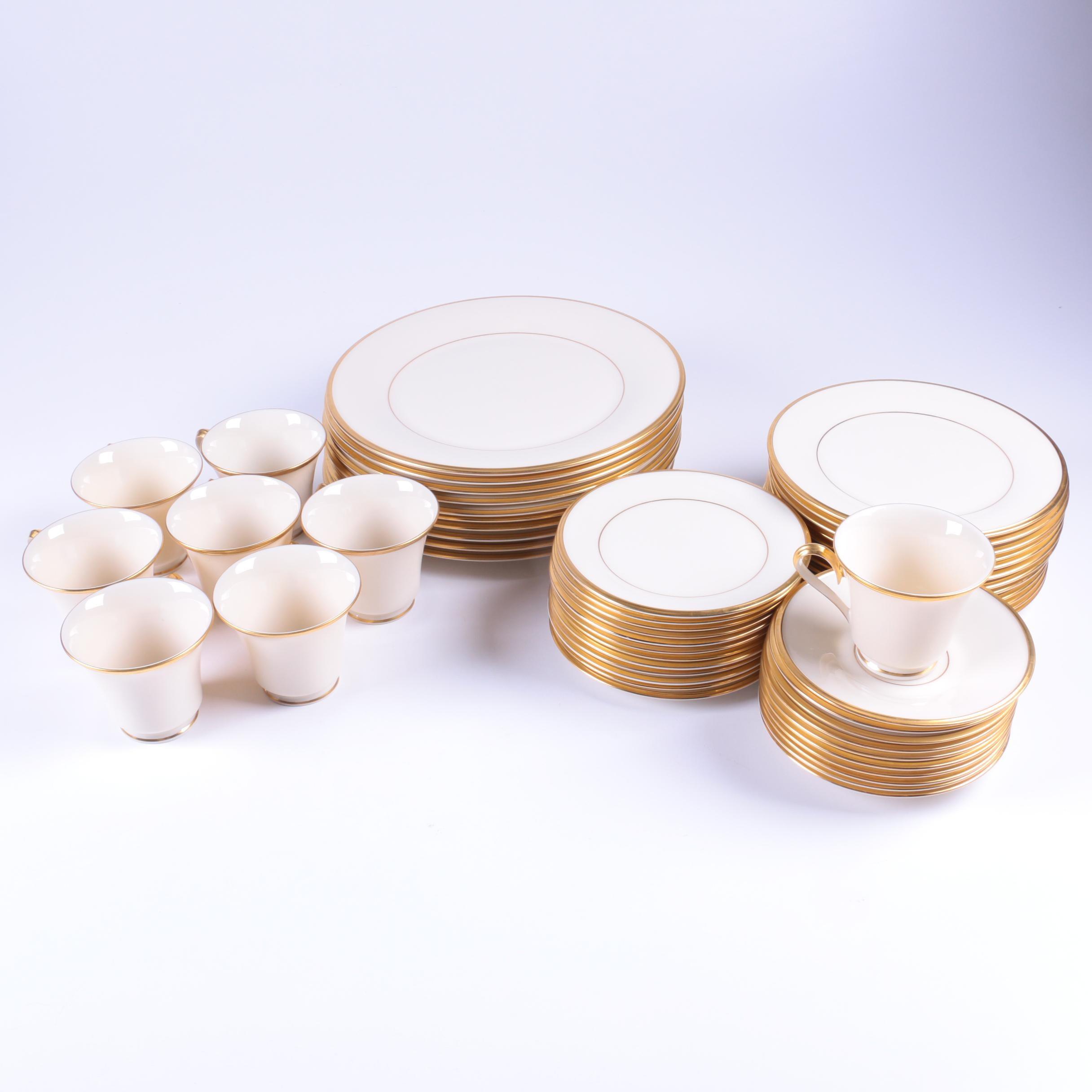 """Lenox """"Eternal"""" Porcelain Tableware"""