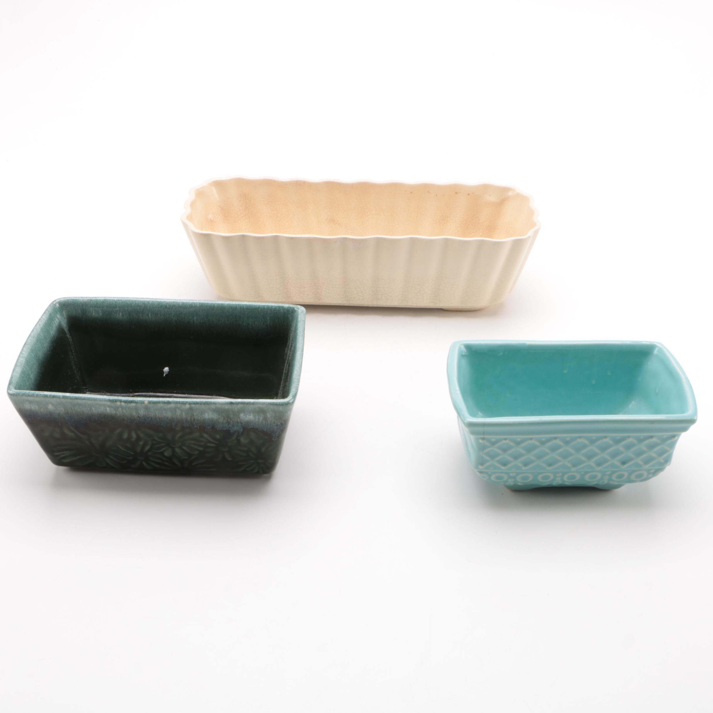 Ceramic Planters Including Hull