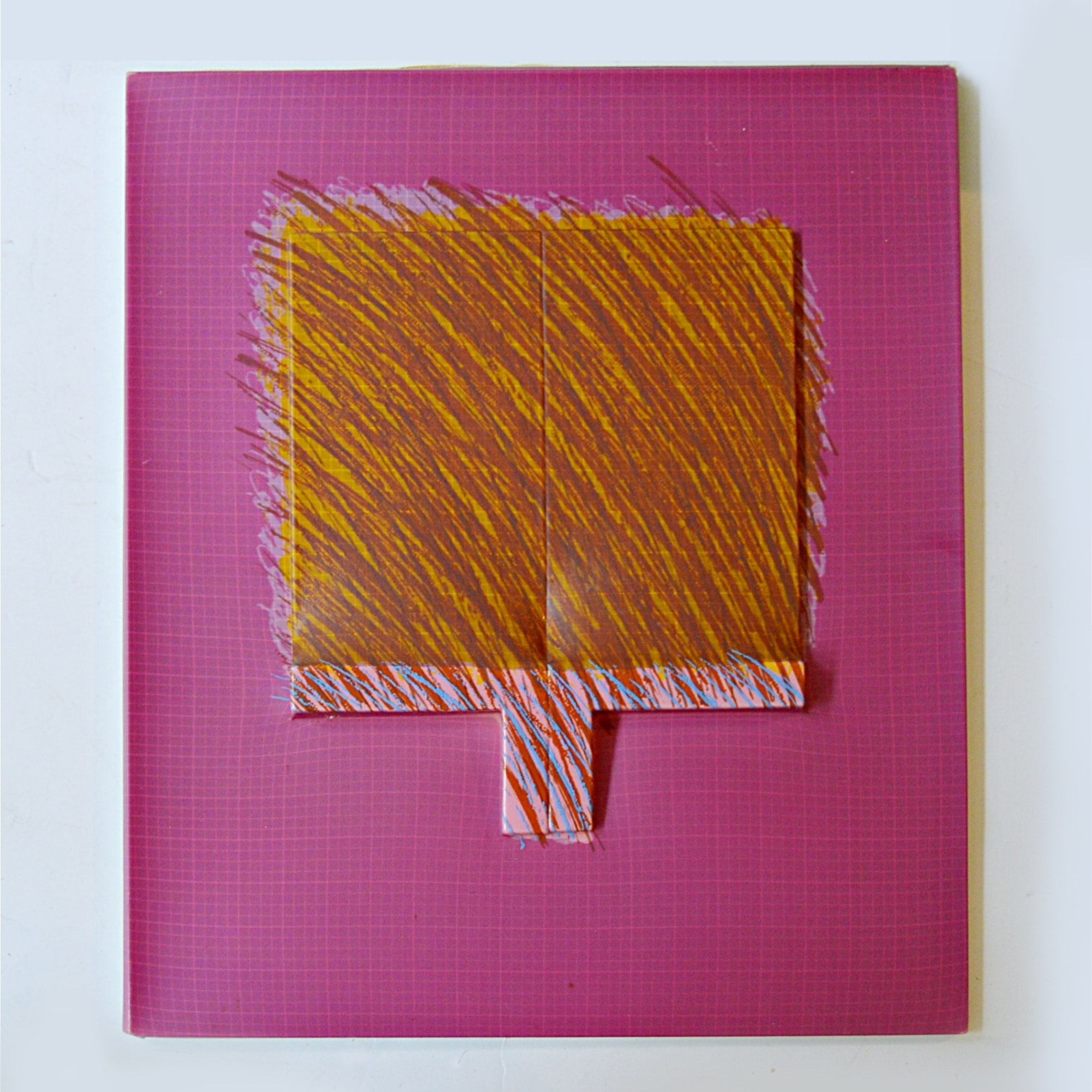 Richard Smith Painted Relief Vacuform Work