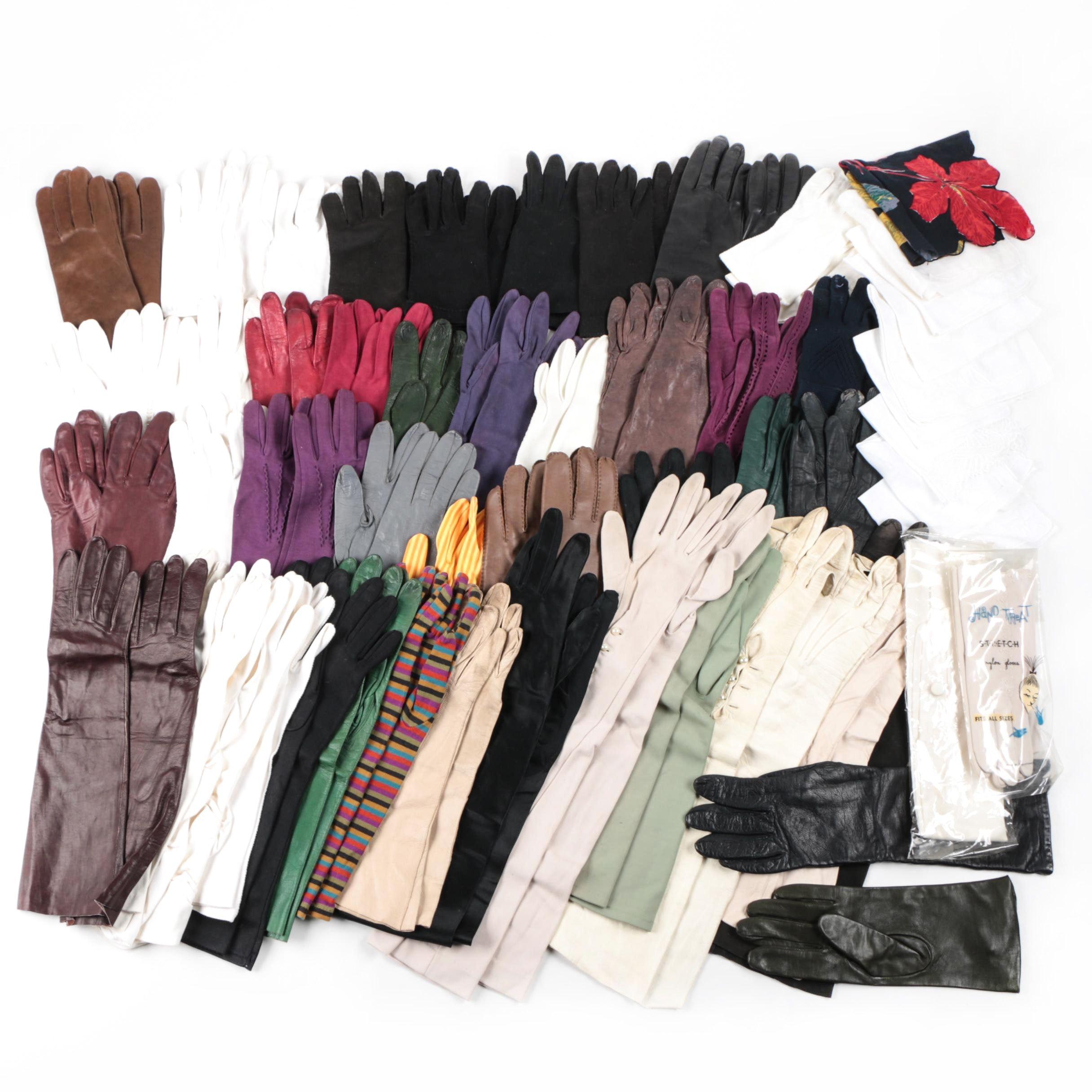 Vintage Glove and Handkerchief Assortment