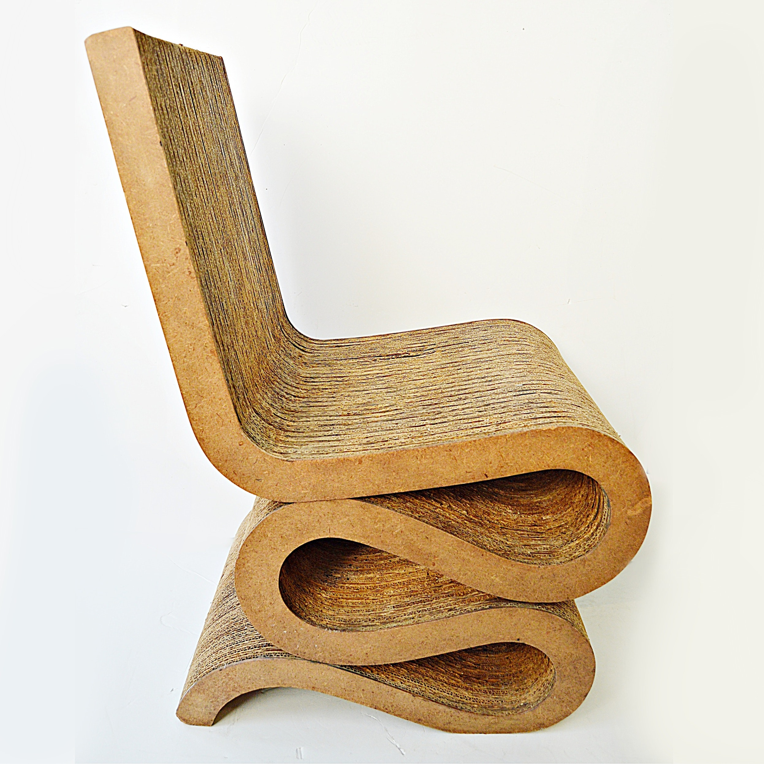 "1970s Frank Gehry's ""Easy Edge"" Corrugated Chair"