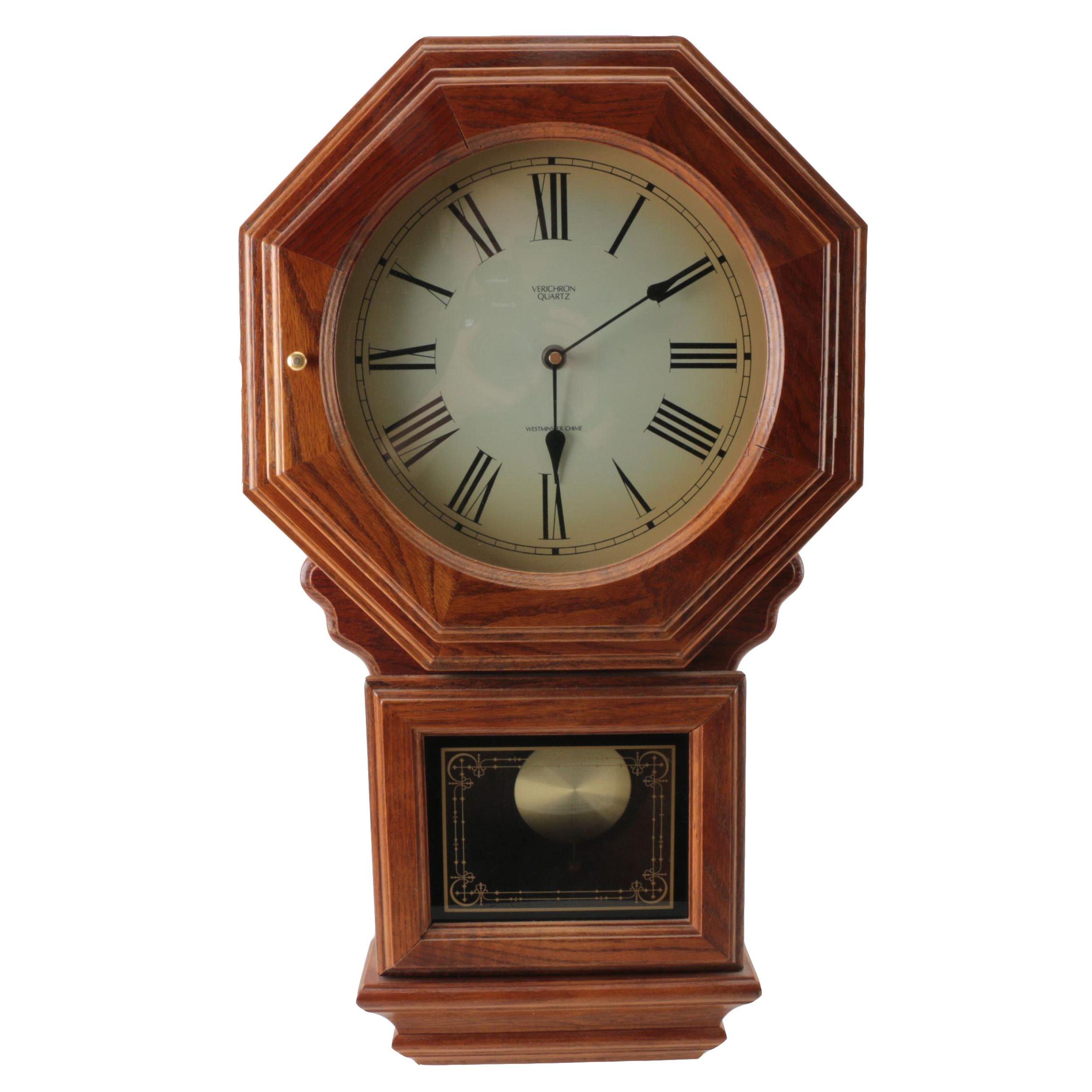 Verichron Quartz Wall Clock