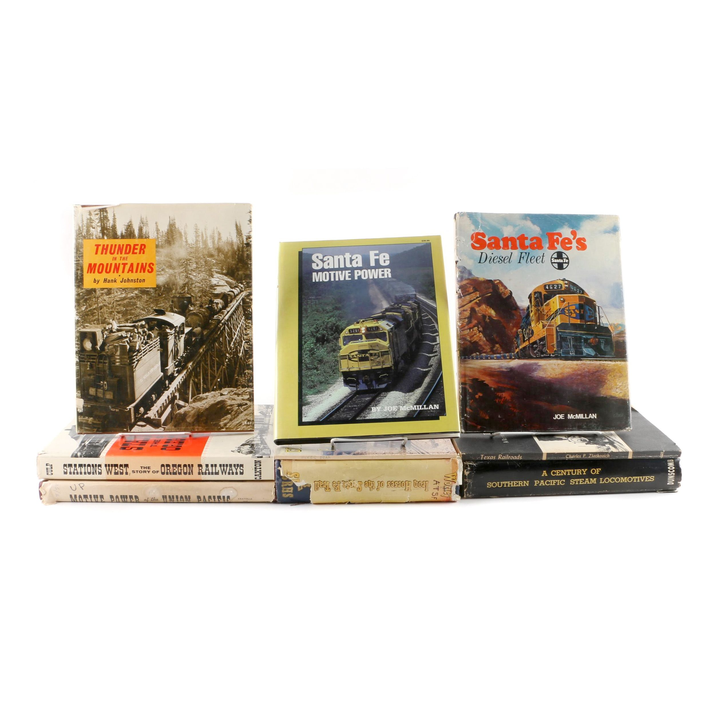 "Assorted Training Books Including 1974 ""Thunder in the Mountains"""