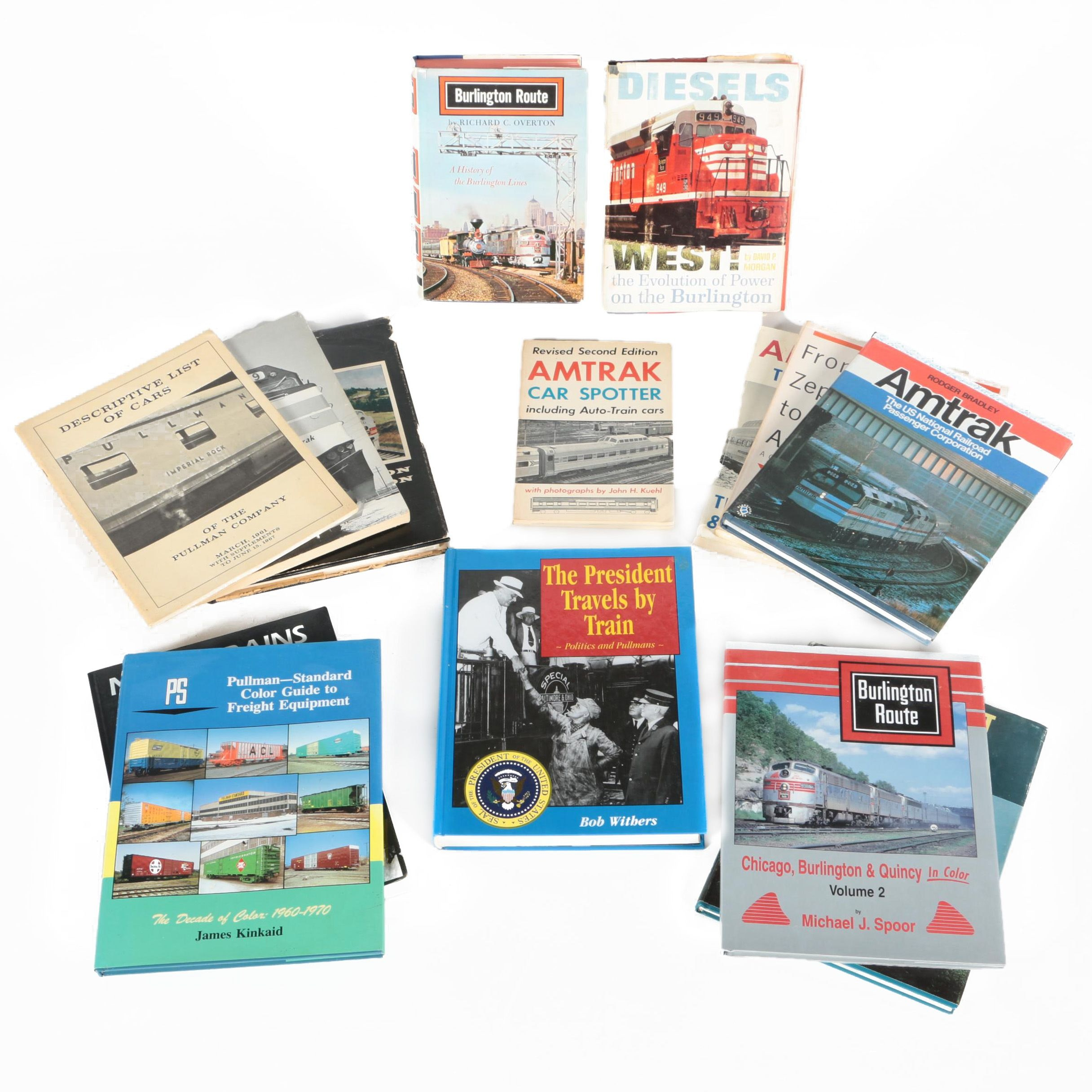 "1995 ""Pullman-Standard Color Guide to Freight Equipment"" and Other Books"