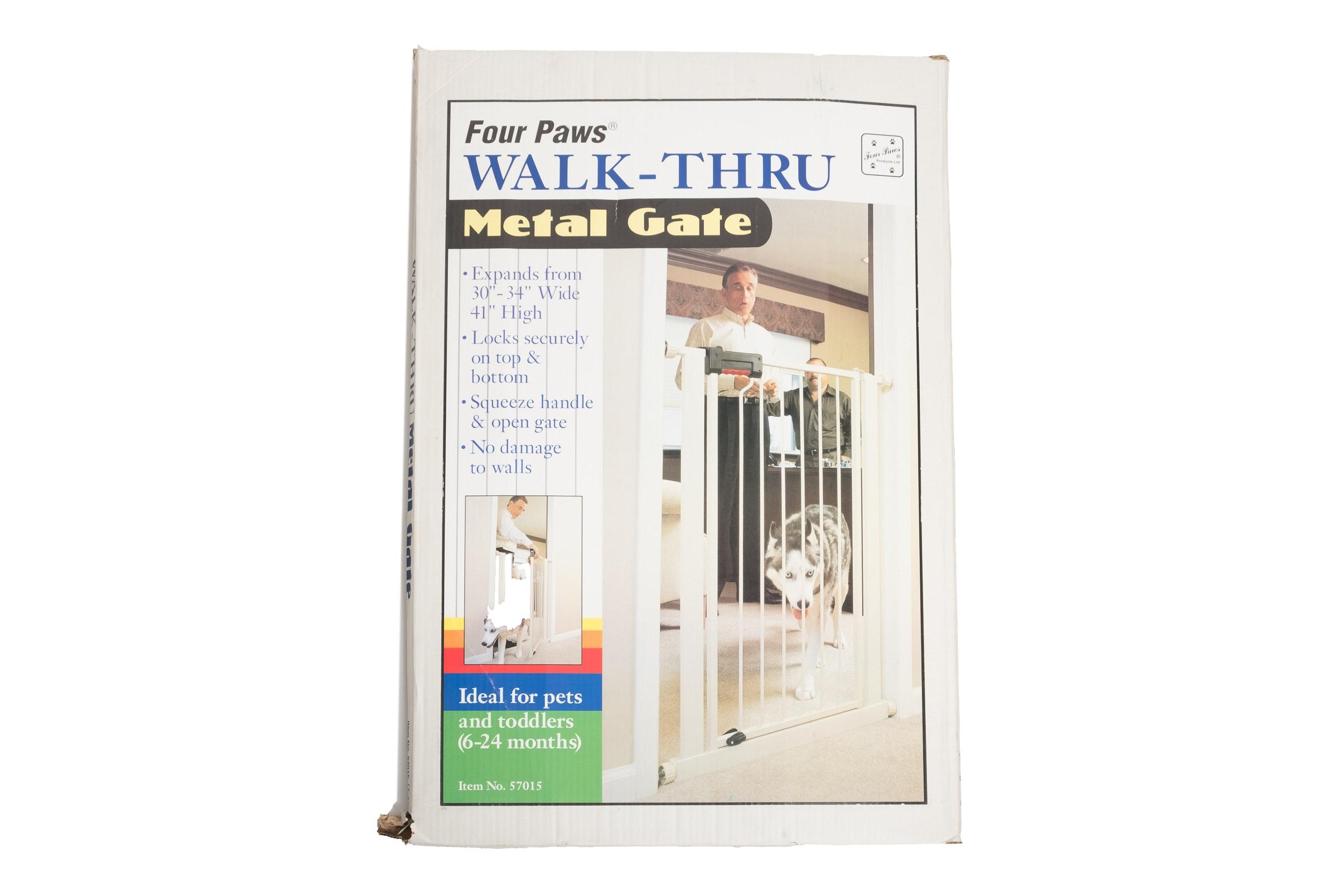 Four Paws Walk-Thru Gate
