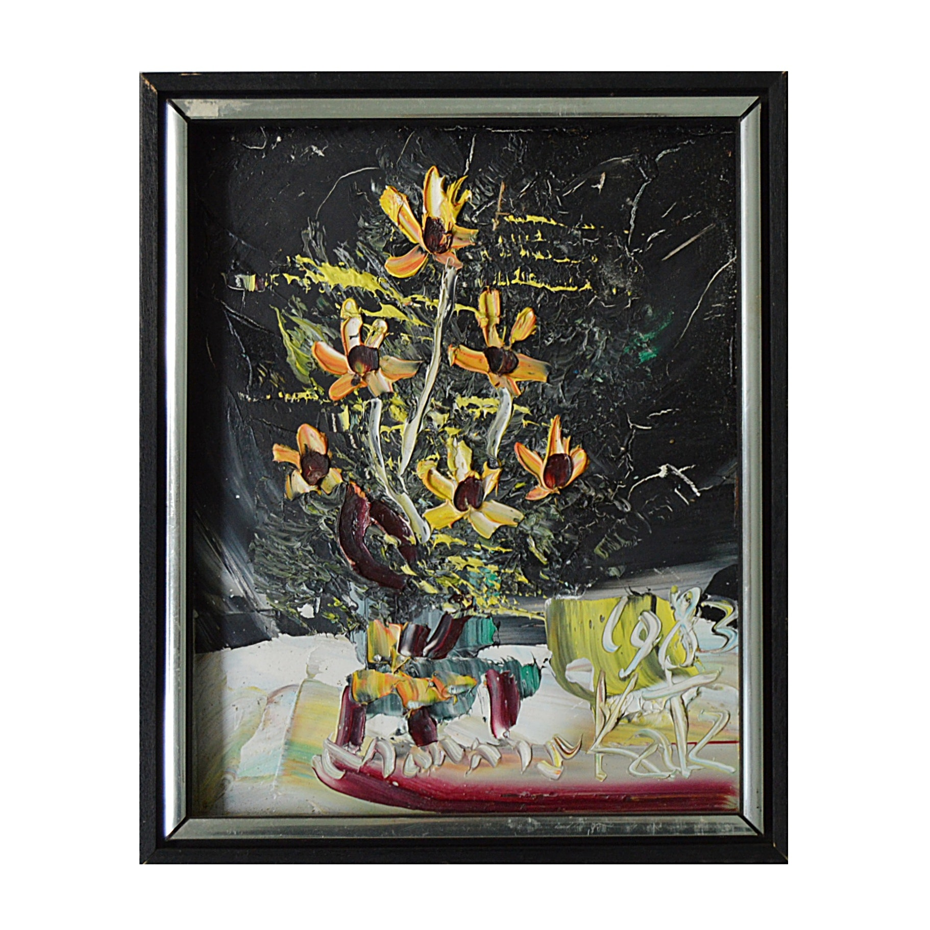 Morris Katz Abstract Expressionistic Still Life