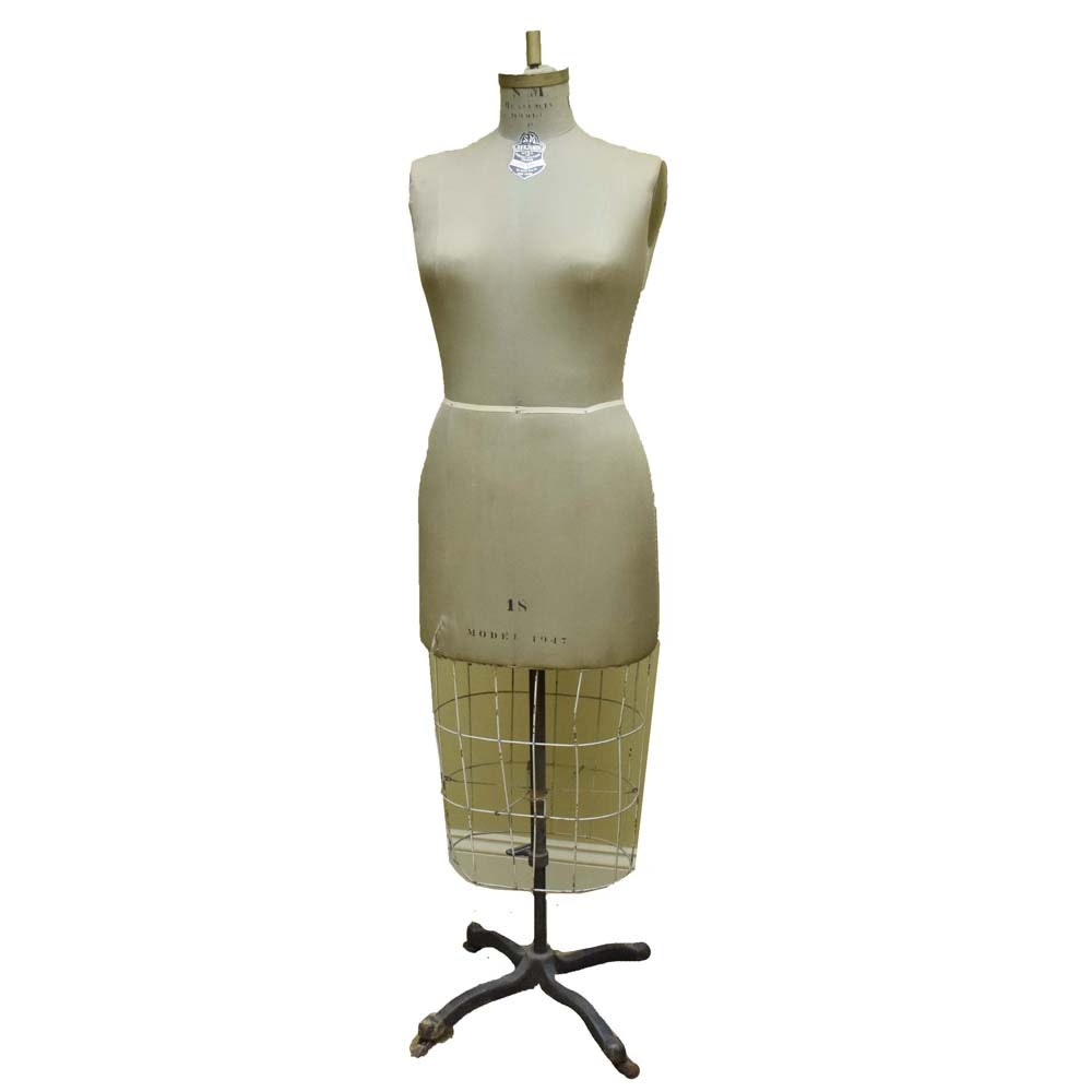 Vintage Benjamin Model Co. Dress Form