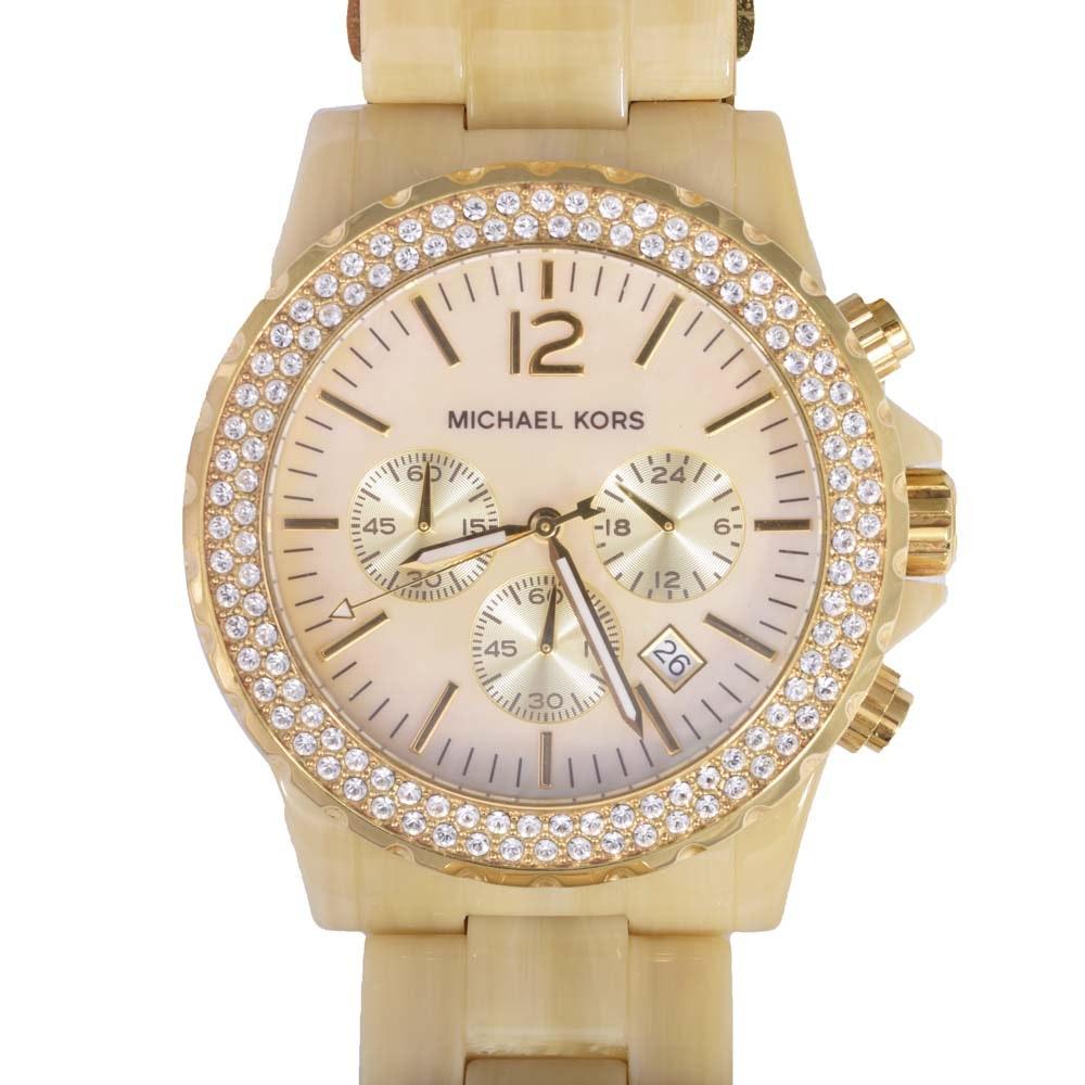 Gold Plated Michael Kors Wristwatch