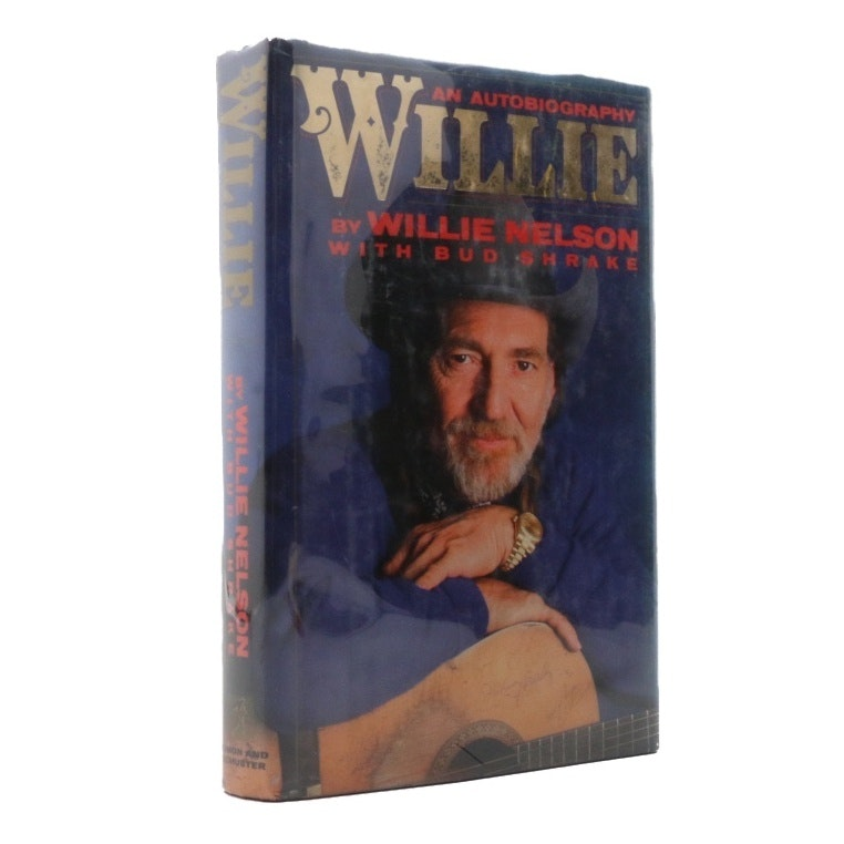 """Signed """"Willie An Autobiography"""" by Willie Nelson"""