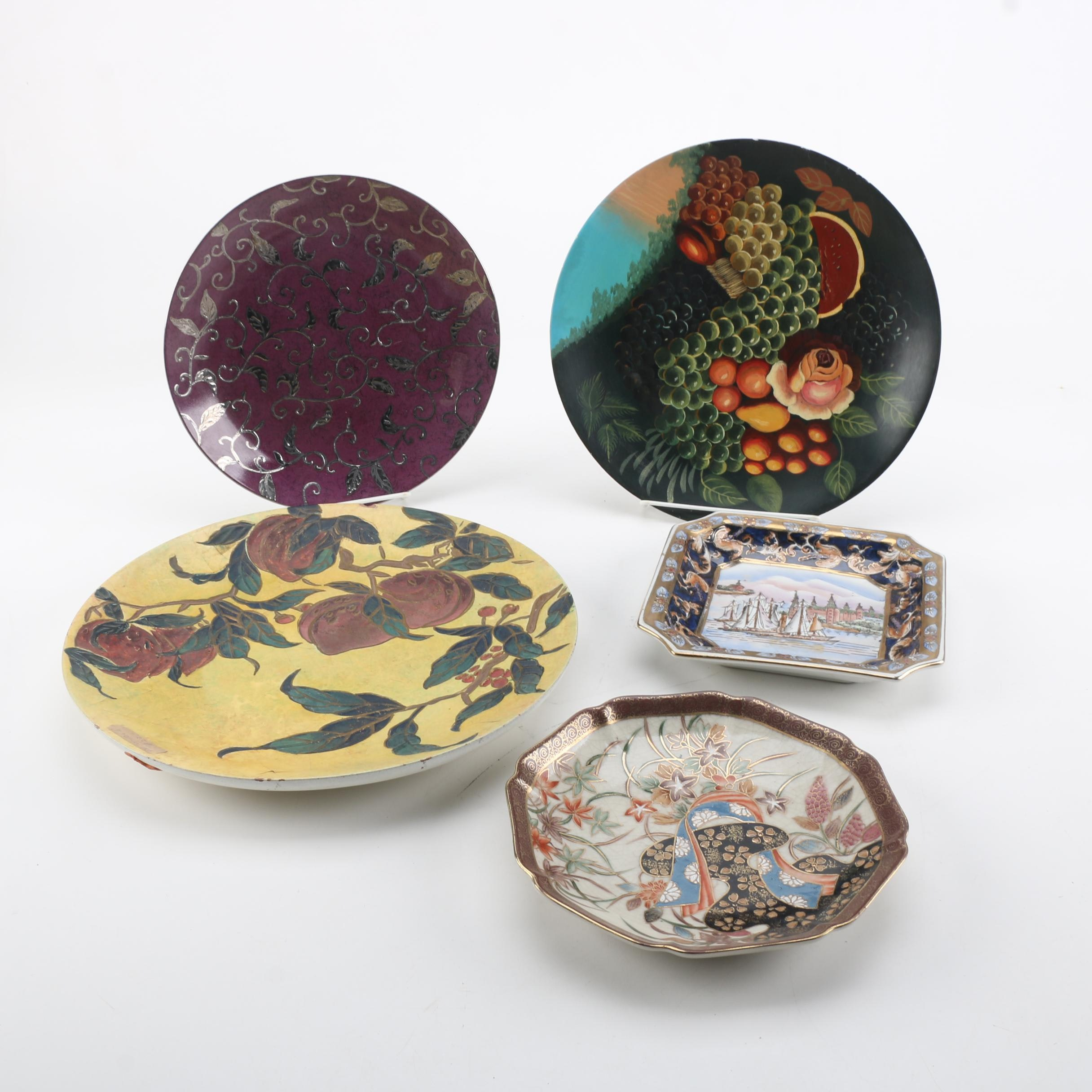 Decorative Chinese Plates
