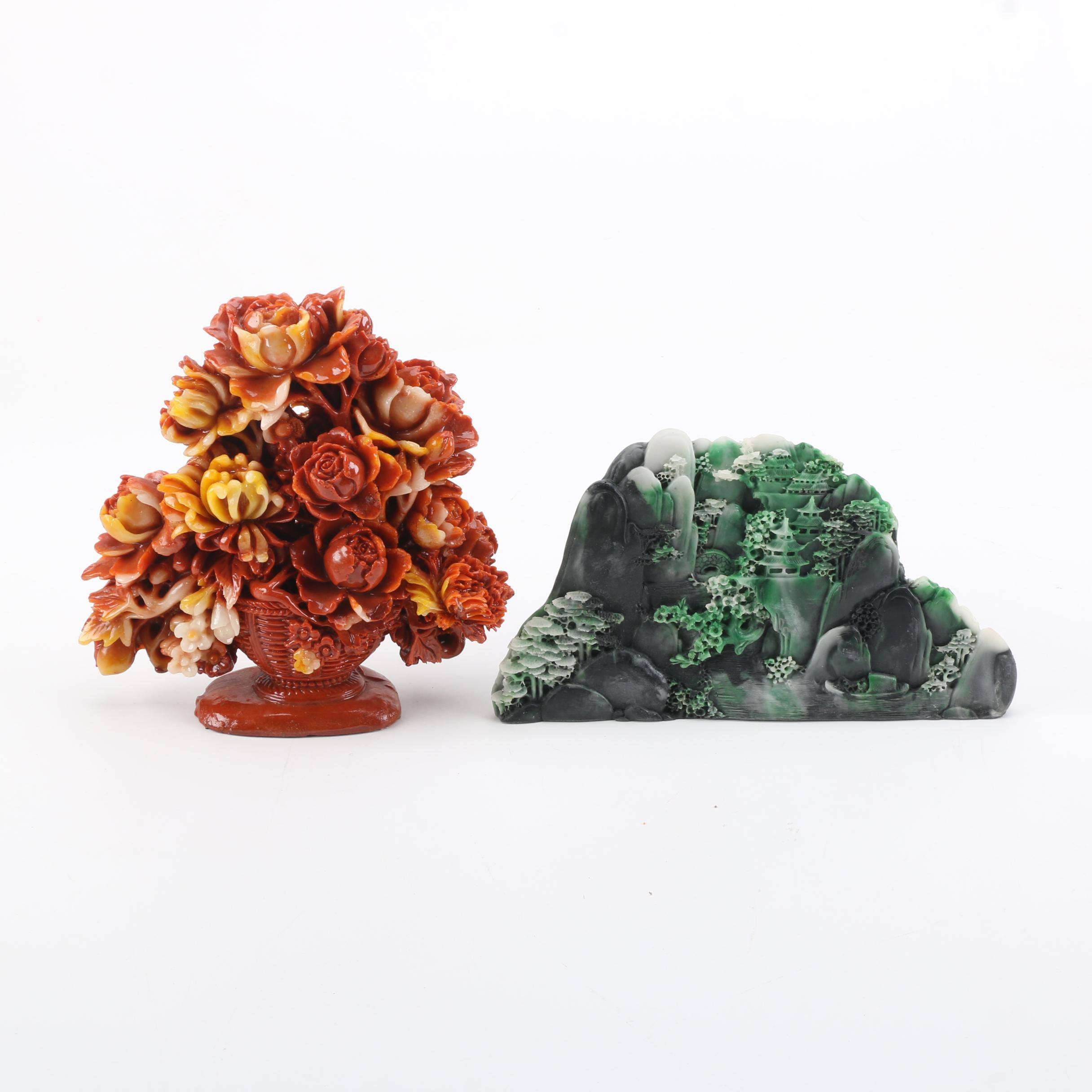 Decorative Chinese Resin Figurines