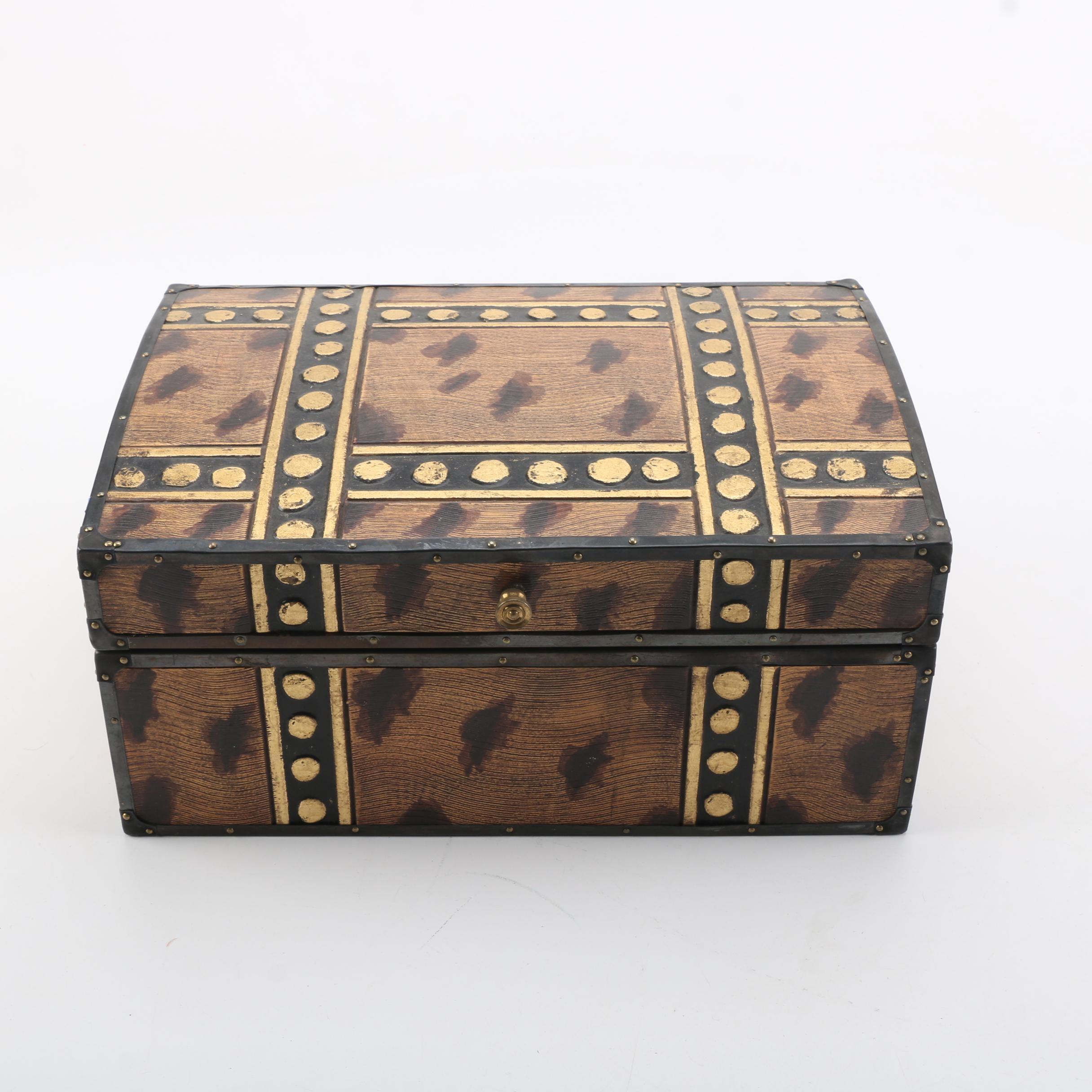 Decorative Wooden Chest