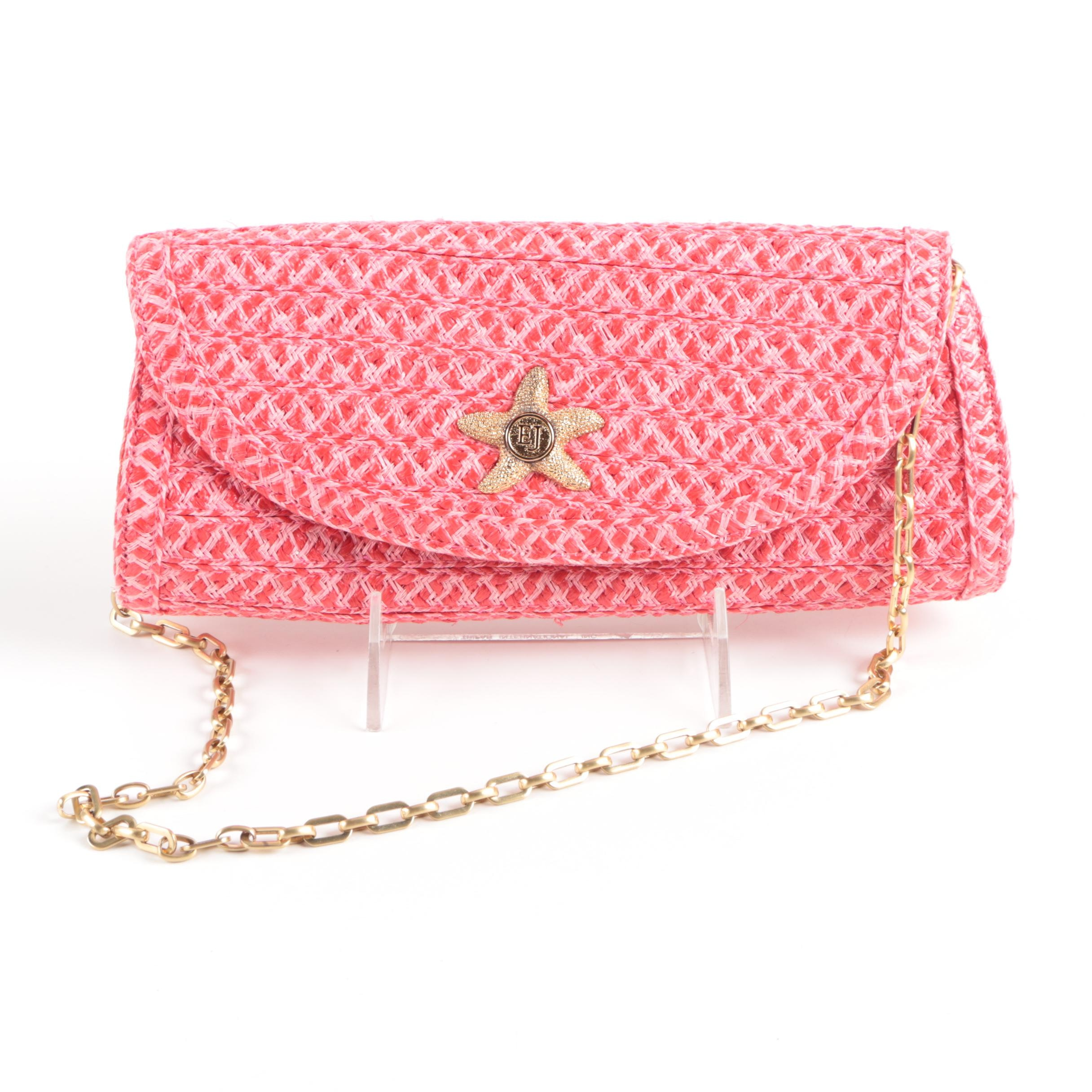 Eric Javits Woven Squishee Purse