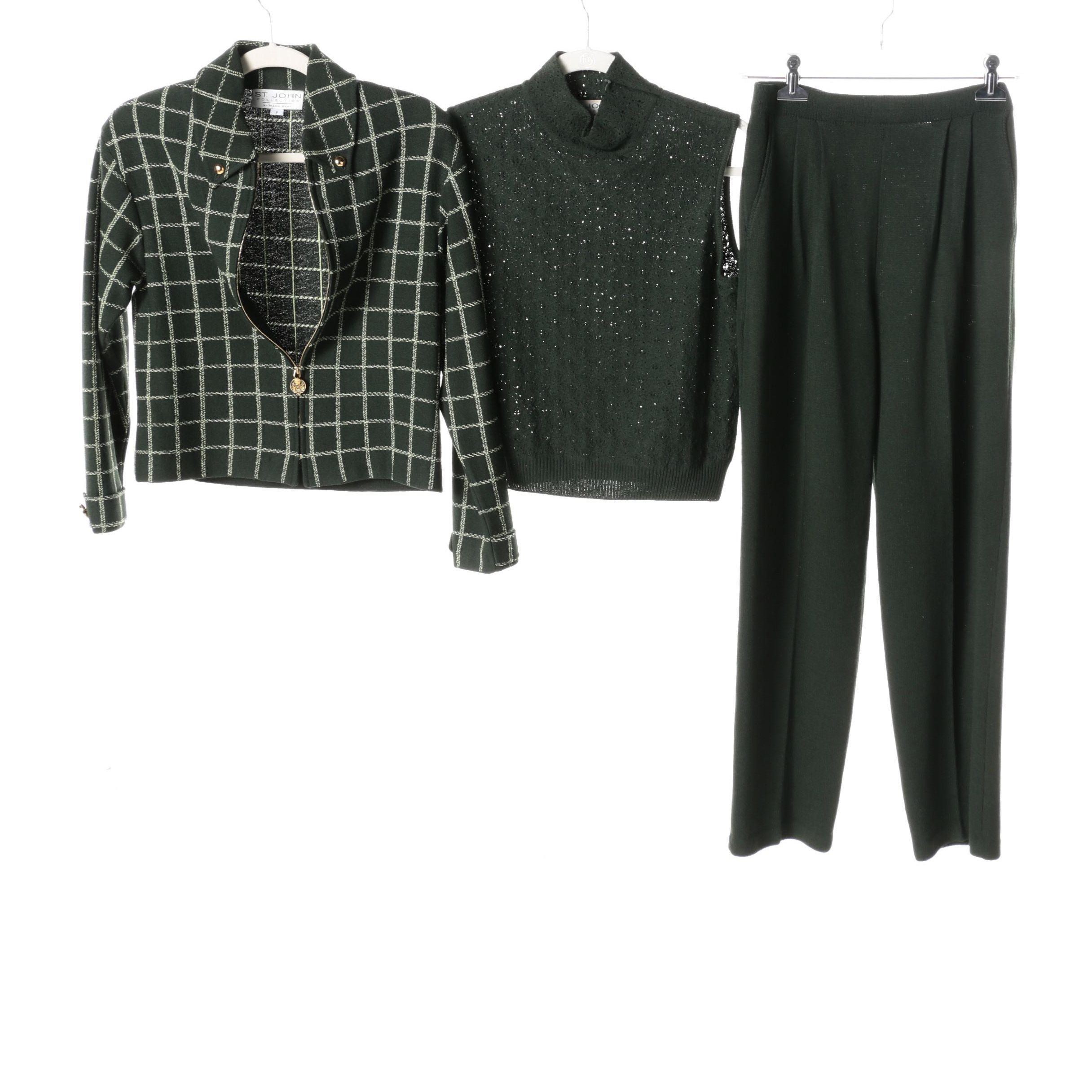 St. John Collection by Marie Gray Green Ensemble