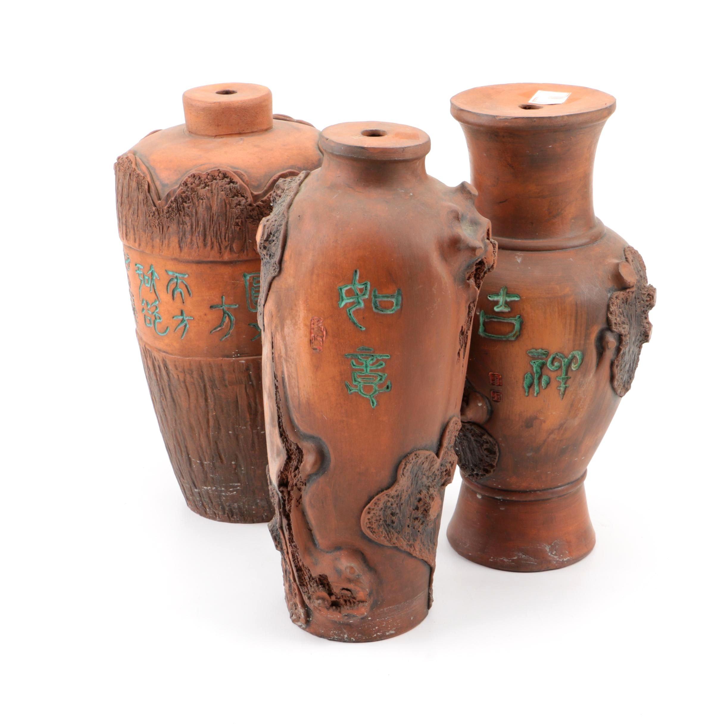 Chinese Ceramic Lamp Bases