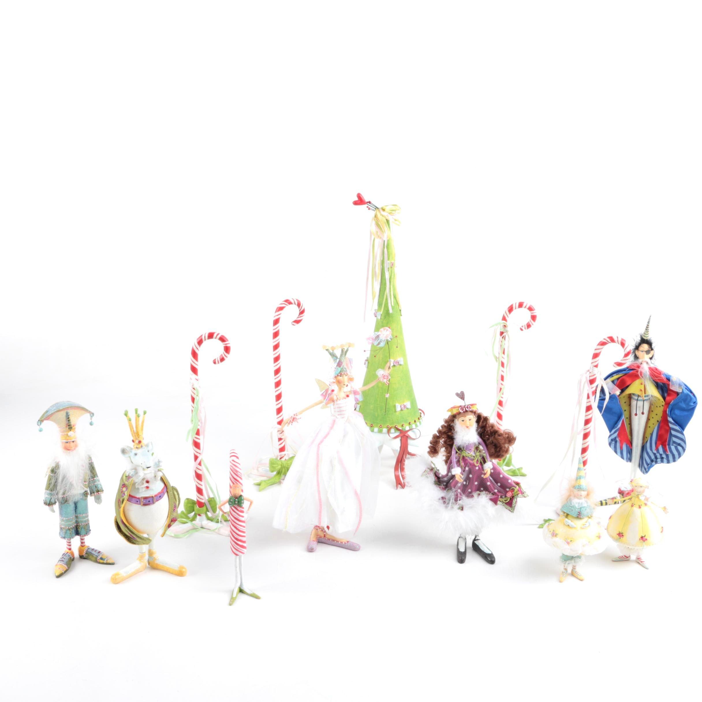 Patience Brewster Krinkles Nutcracker Figurines