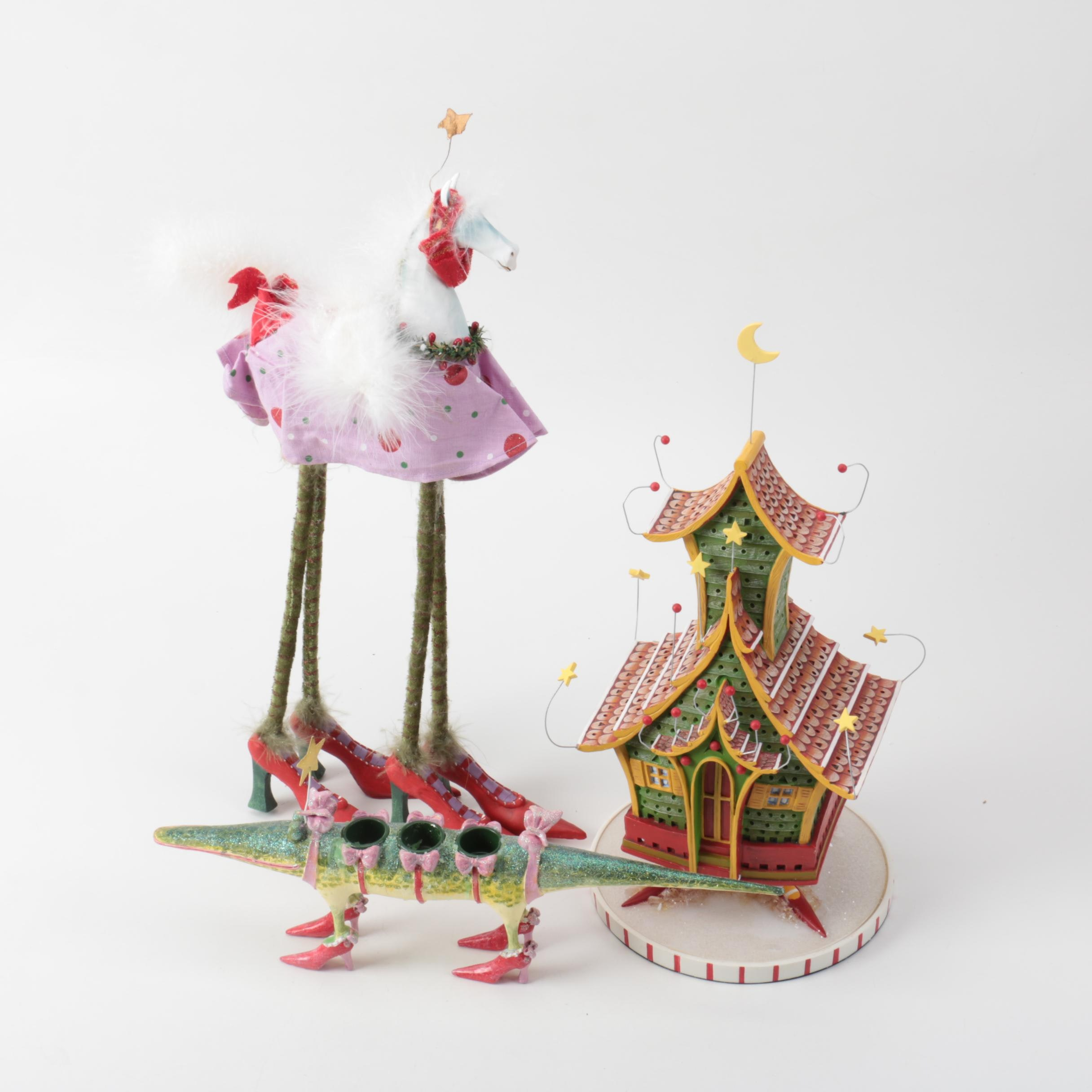 Department 56 Holiday Figures