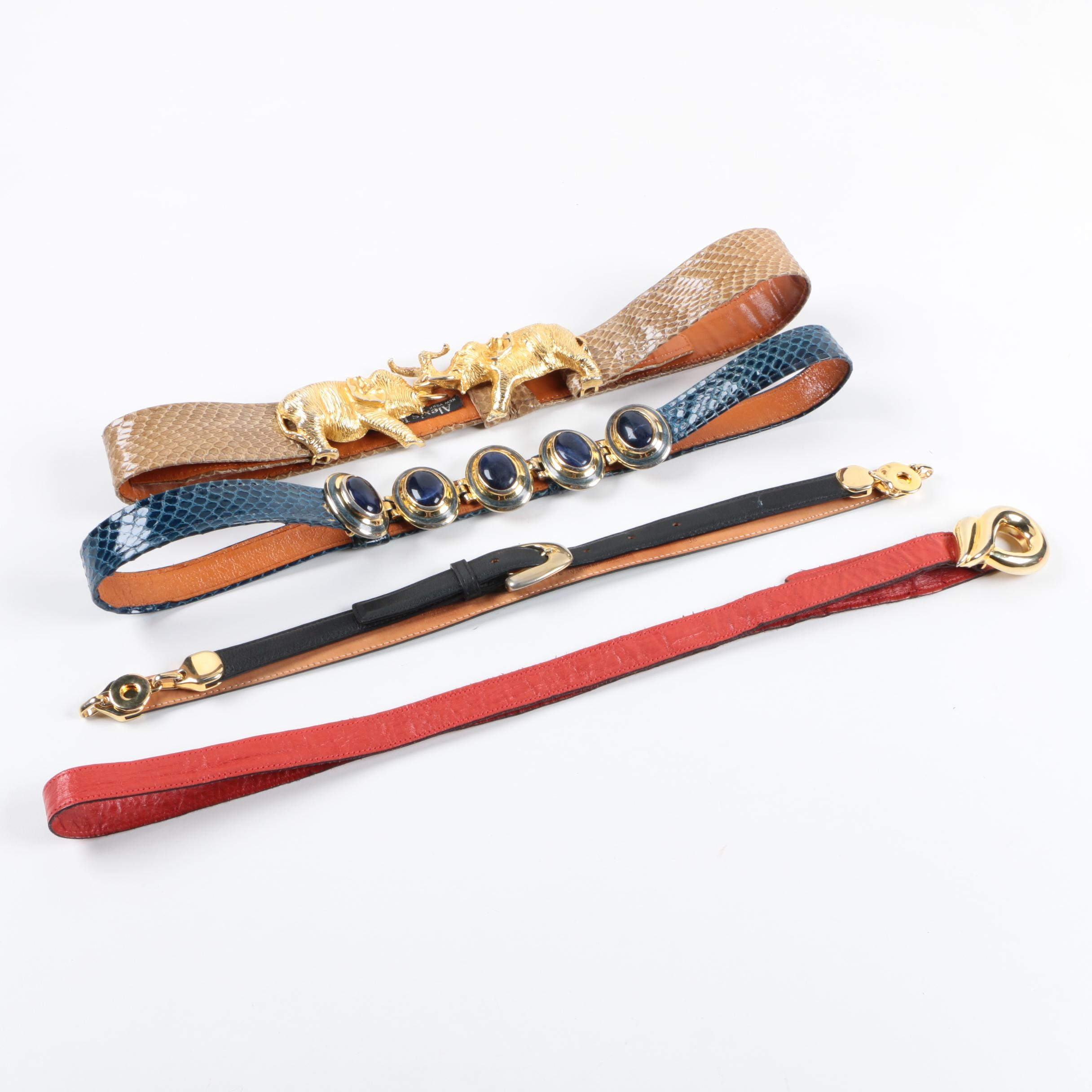 Vintage Designer Belts with Alexis Kirk and Hattie Carnigie