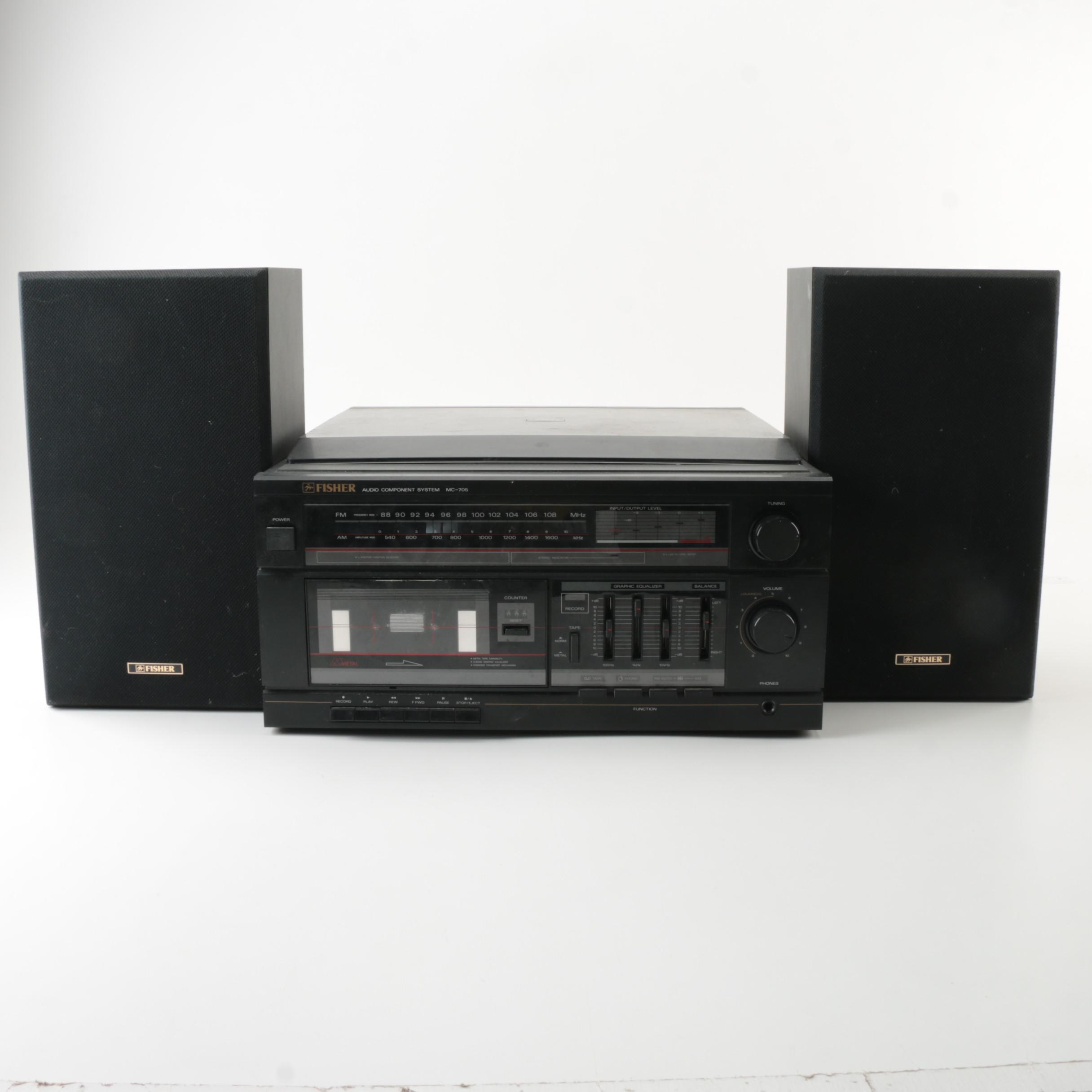 Fisher Turntable Stereo