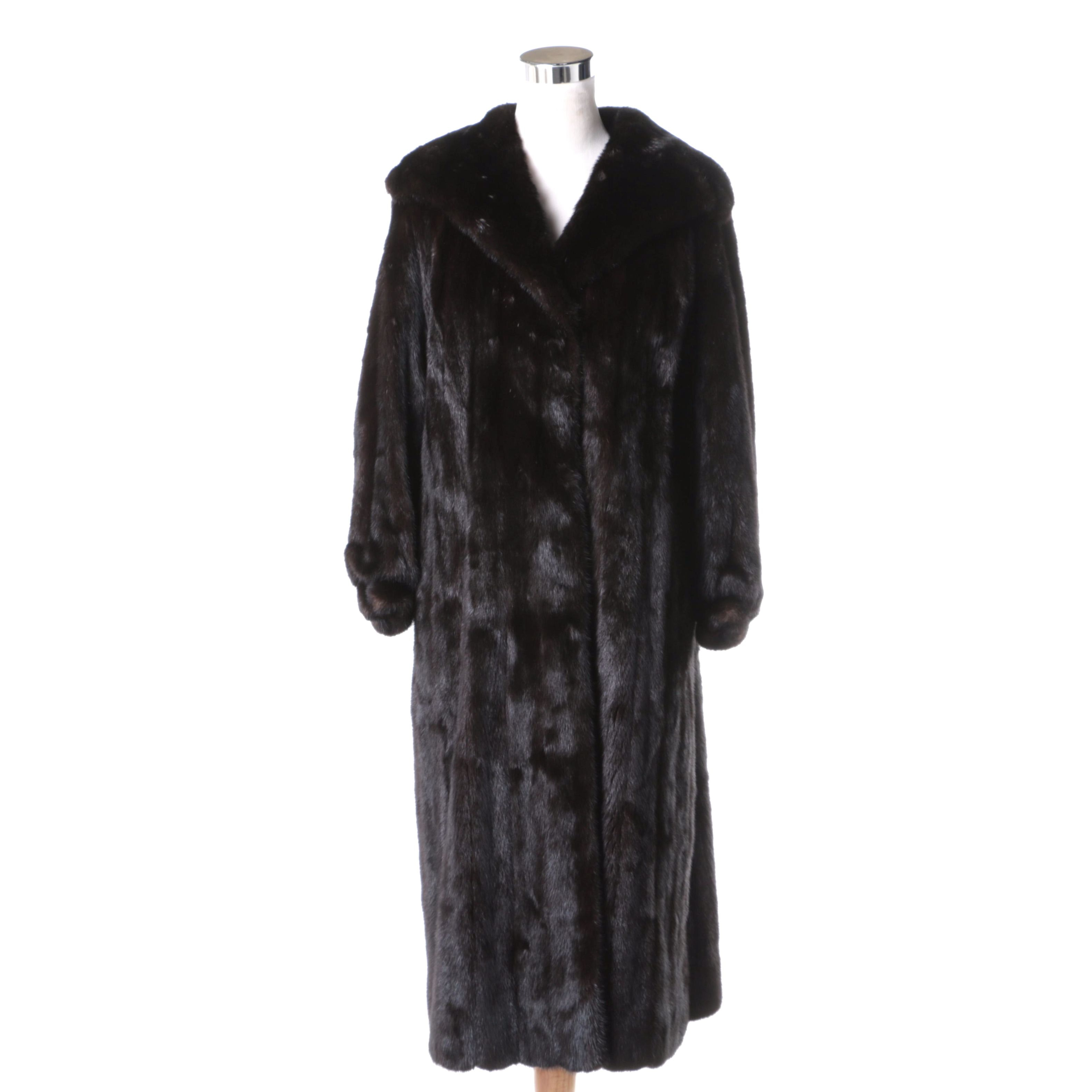 Blackglama Dark Ranch Mink Fur Coat