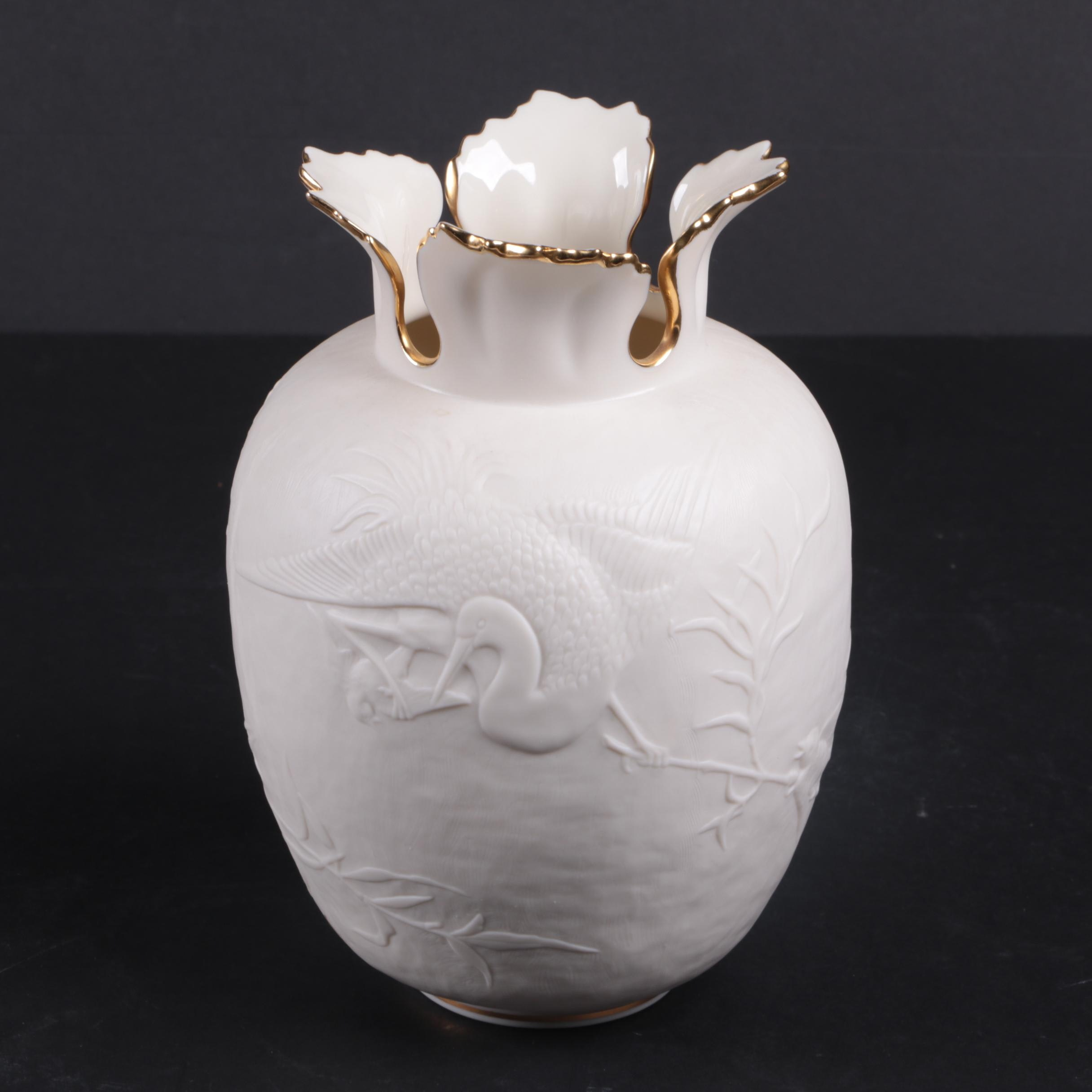 Lenox Heritage Collection Ceramic Vase After Kate Sears