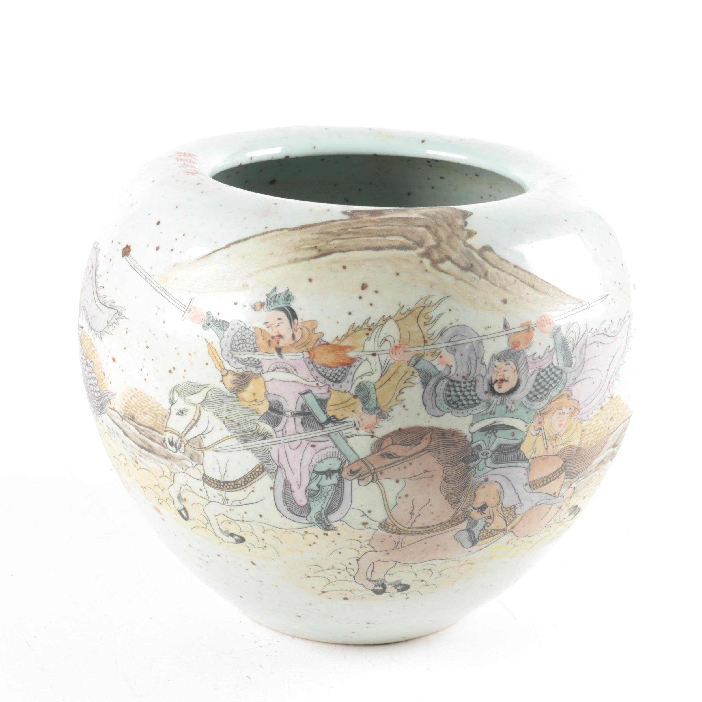 Chinese Ceramic Pot
