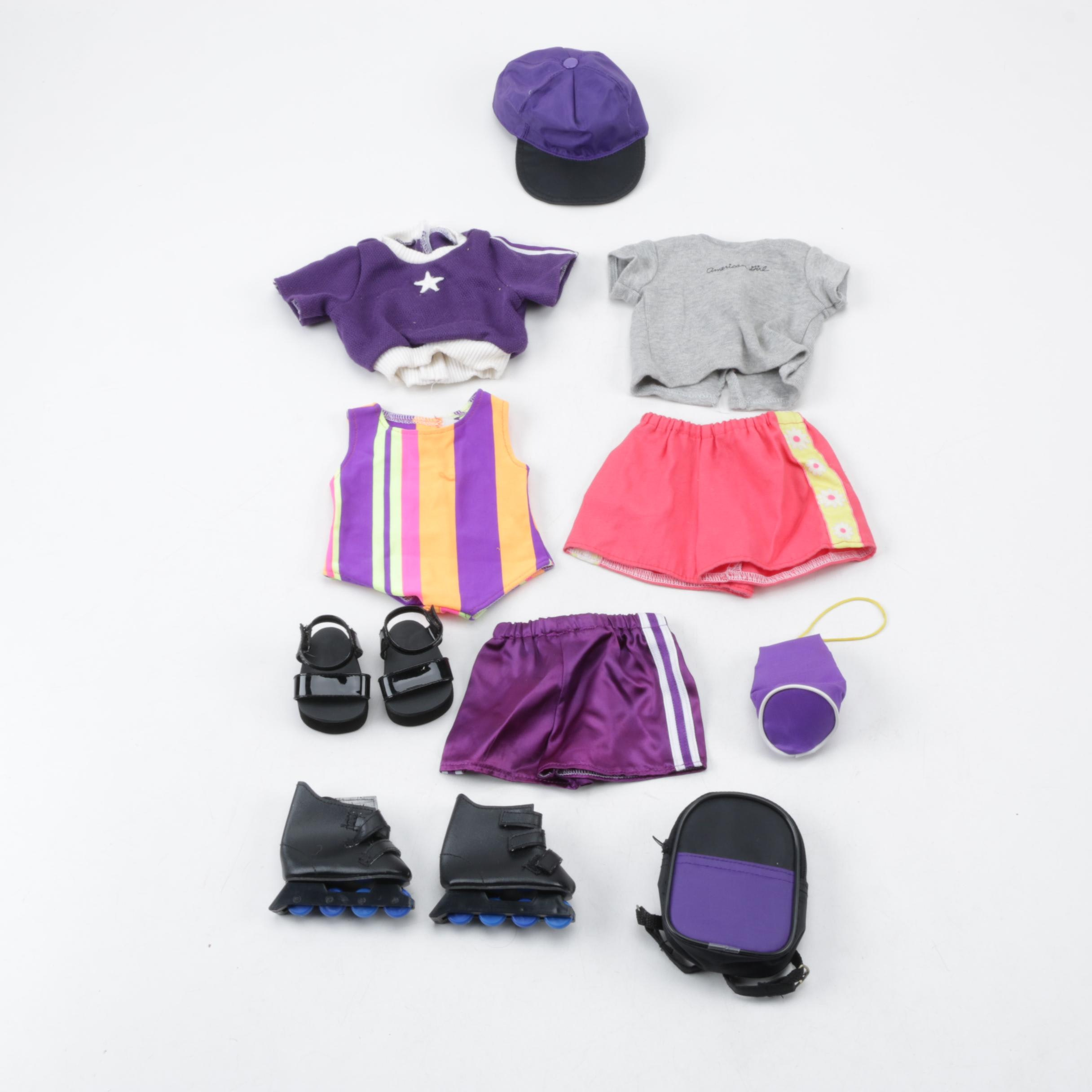 American Girl Athletic Gear and Clothing