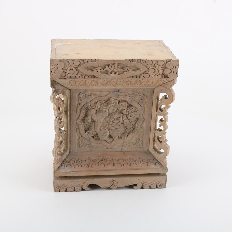 decorative laterina wooden pedestals pedestal crafts x furniture